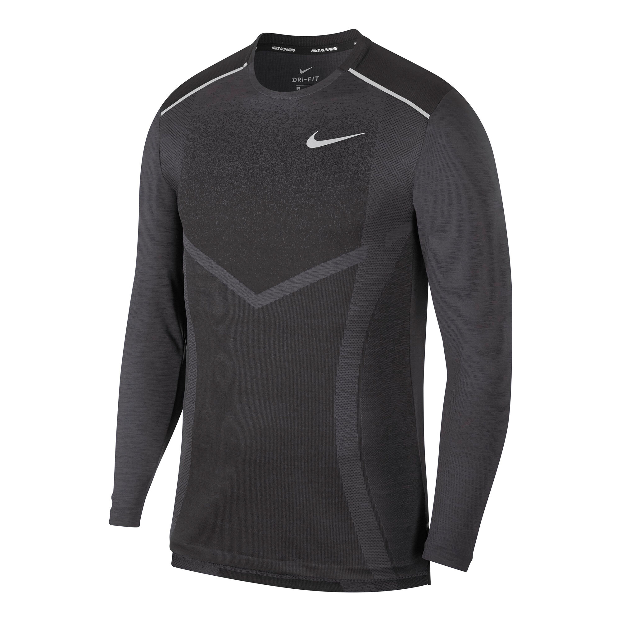 c2770007 buy Nike TechKnit Cool Ultra Long Sleeve Men - Dark Grey, Grey ...