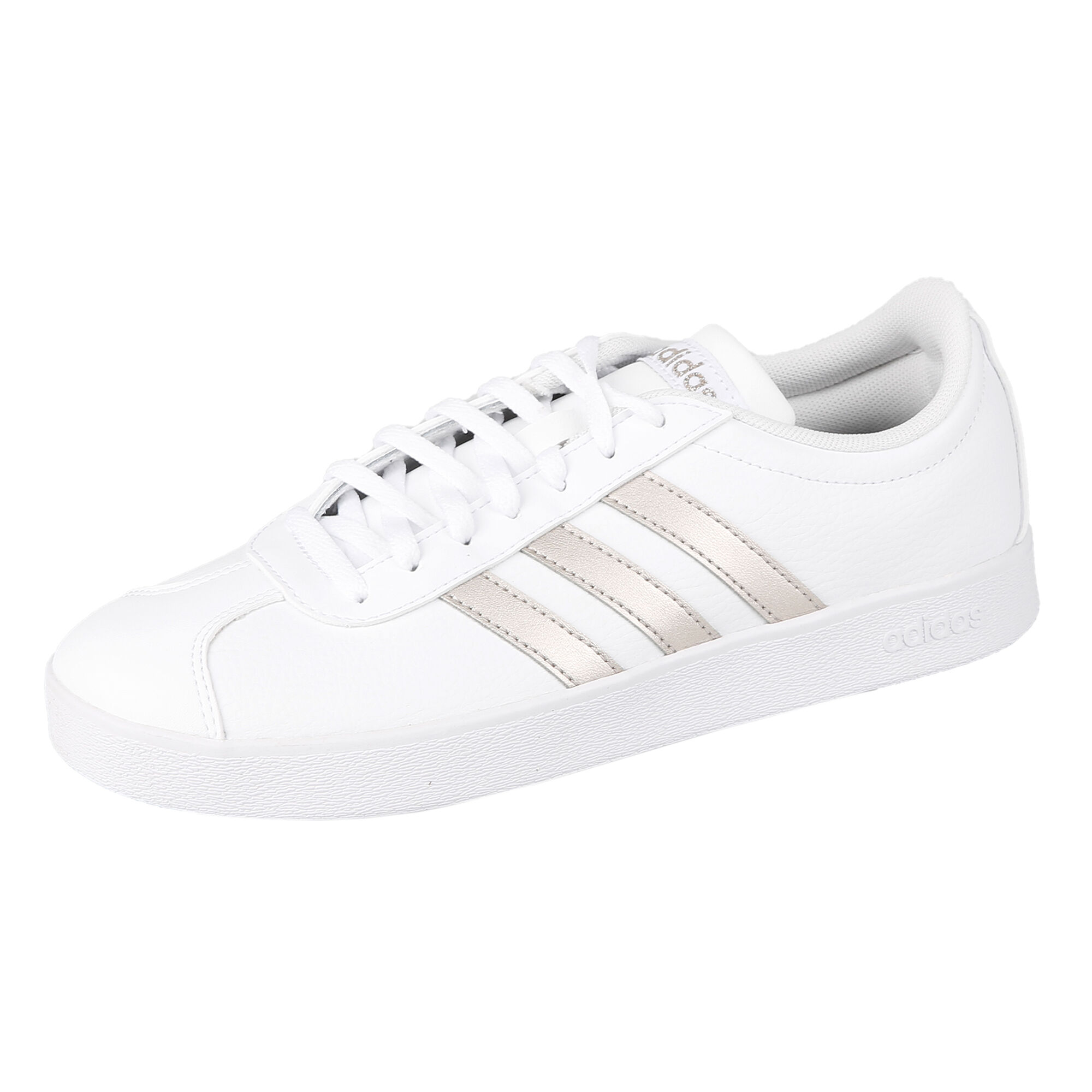 corrupción Zoológico de noche lema  buy adidas VL Court 2.0 Sneakers Women - White, Gold online | Jogging-Point
