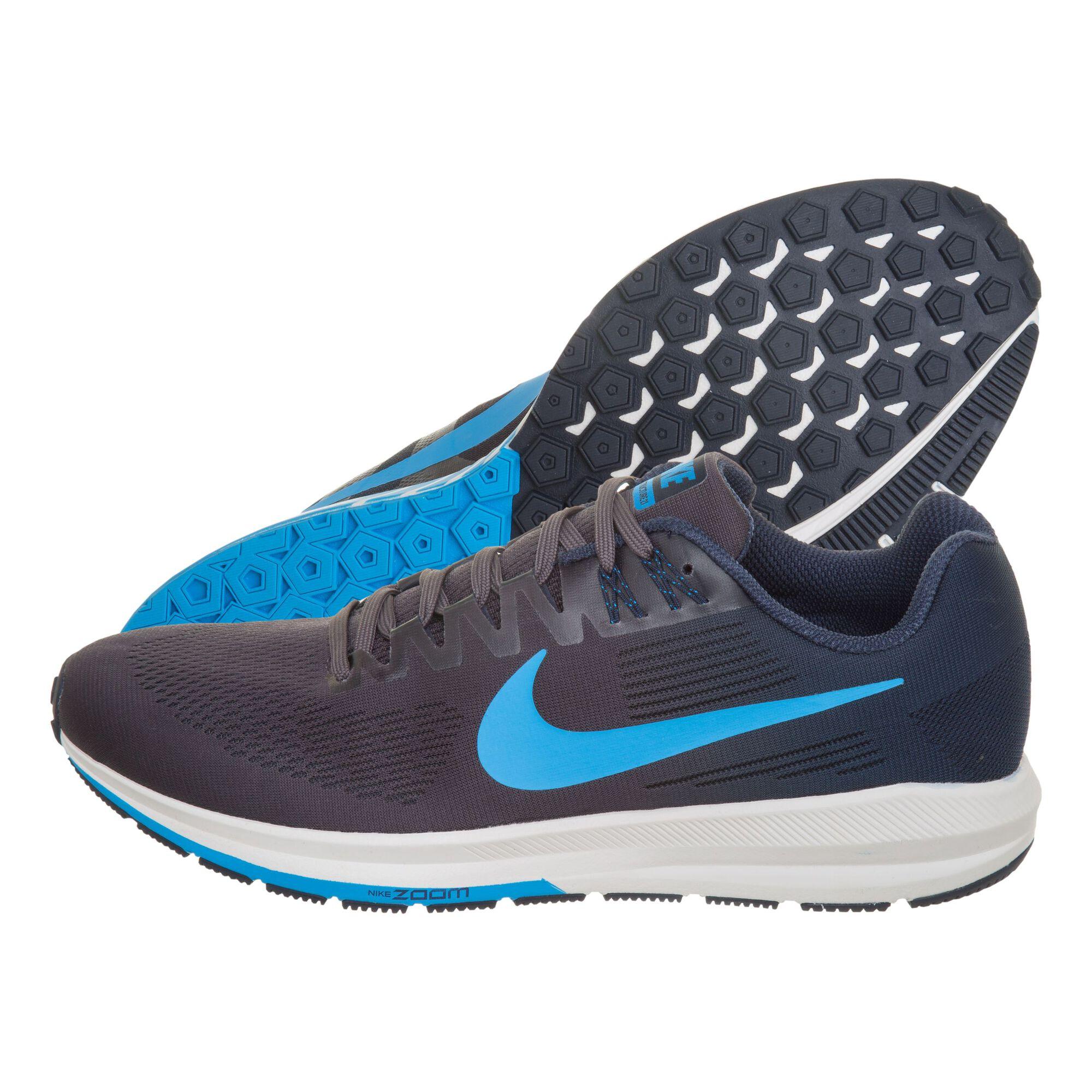 7fa19c7b7eb6d buy Nike Air Zoom Structure 21 Stability Running Shoe Men - Dark ...