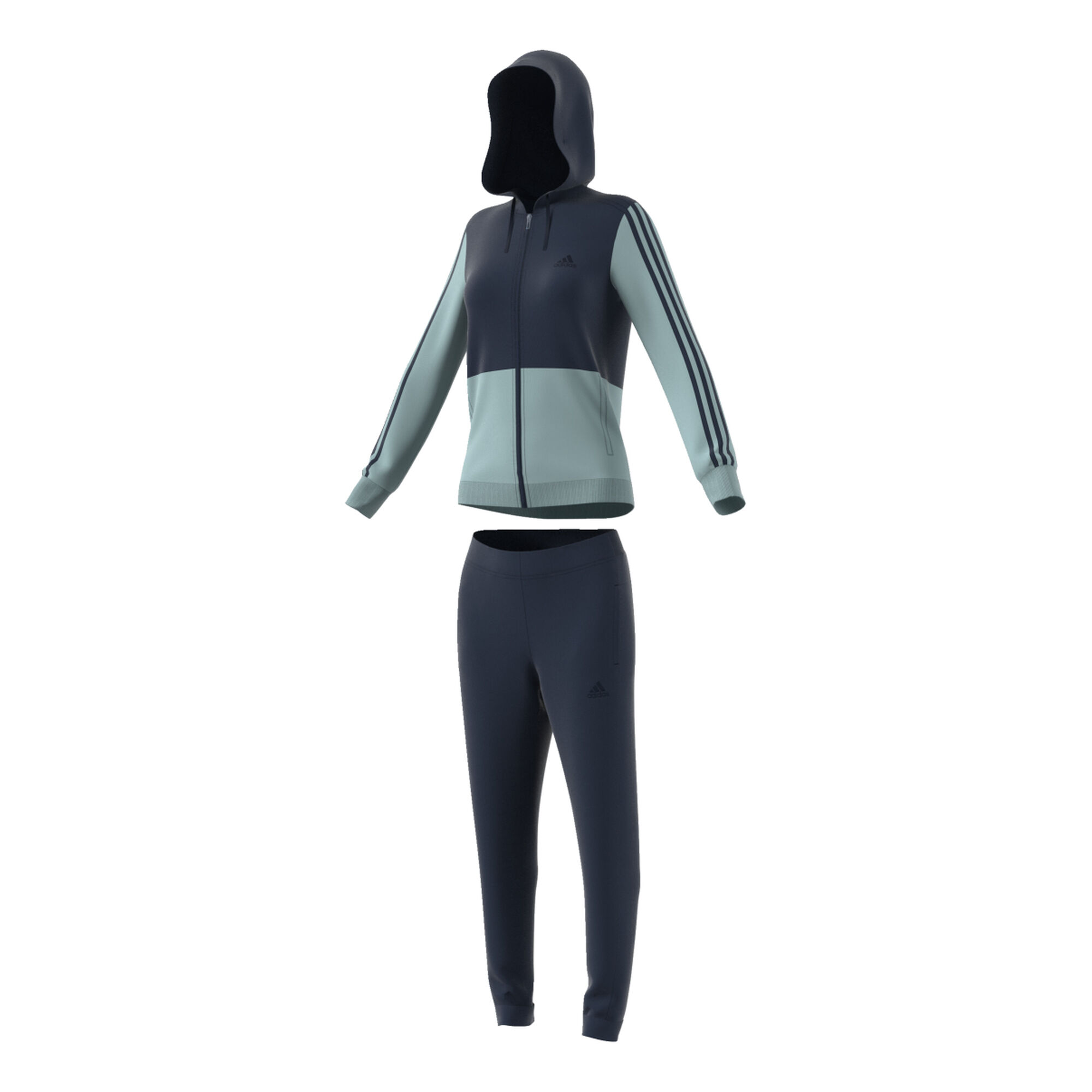 fd90fc331232 buy adidas Cotton Energize Tracksuit Women - Dark Blue