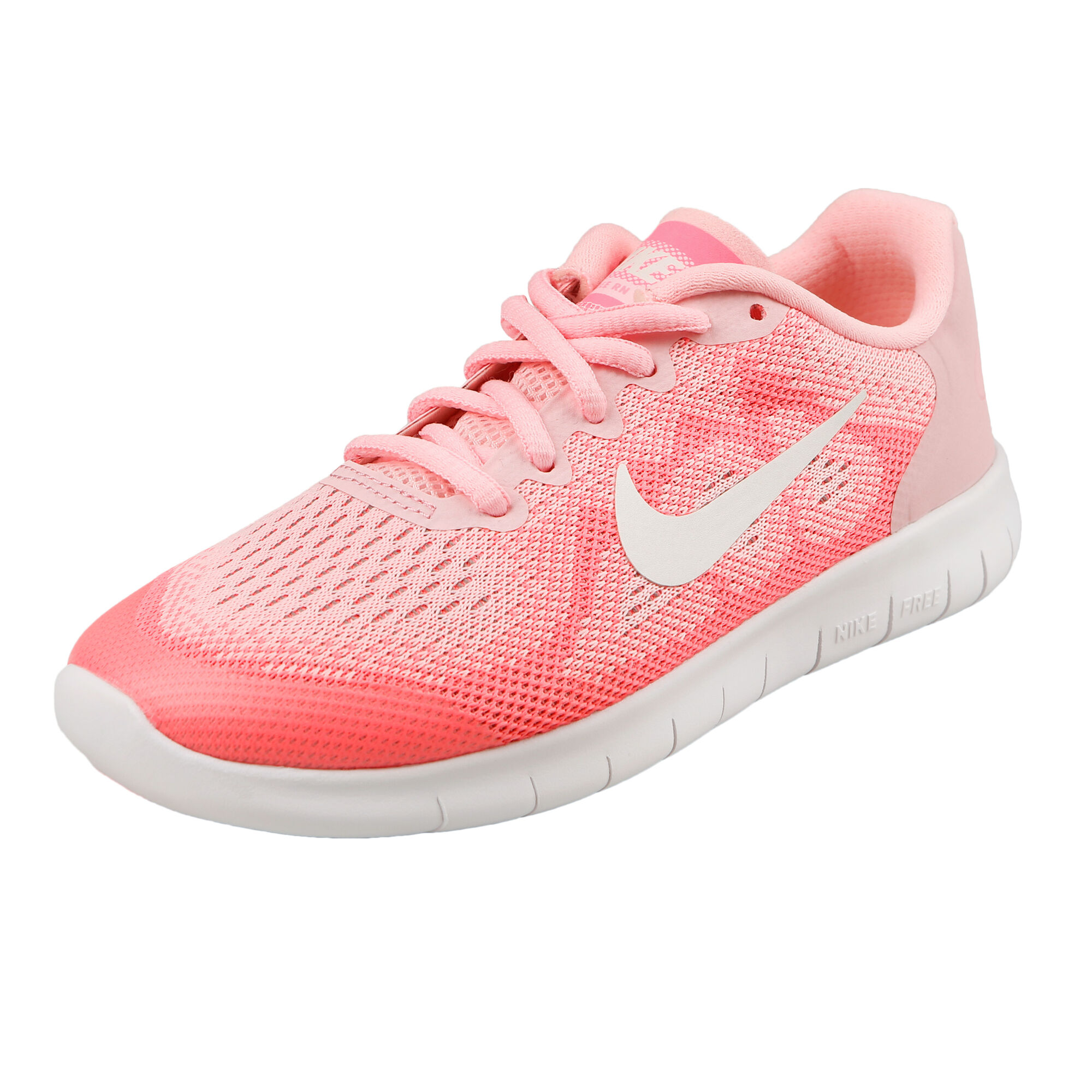 hot sale online 1d0ce a7df1 buy Nike Free Run 2017 Natural Running Shoe Kids - Pink, White ...