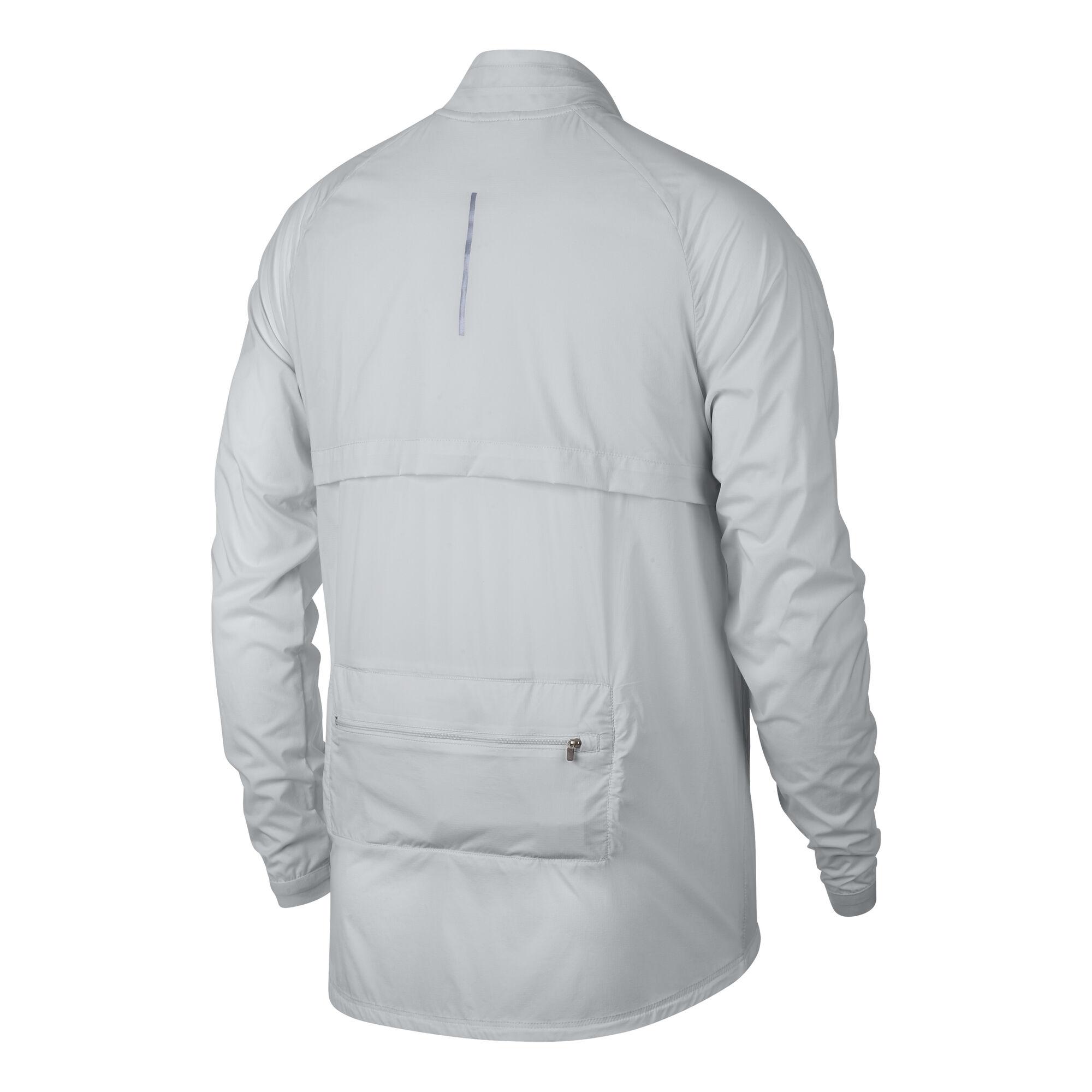 a855f42a62 buy Nike Shield Convertible Running Jacket Men - Lightgrey