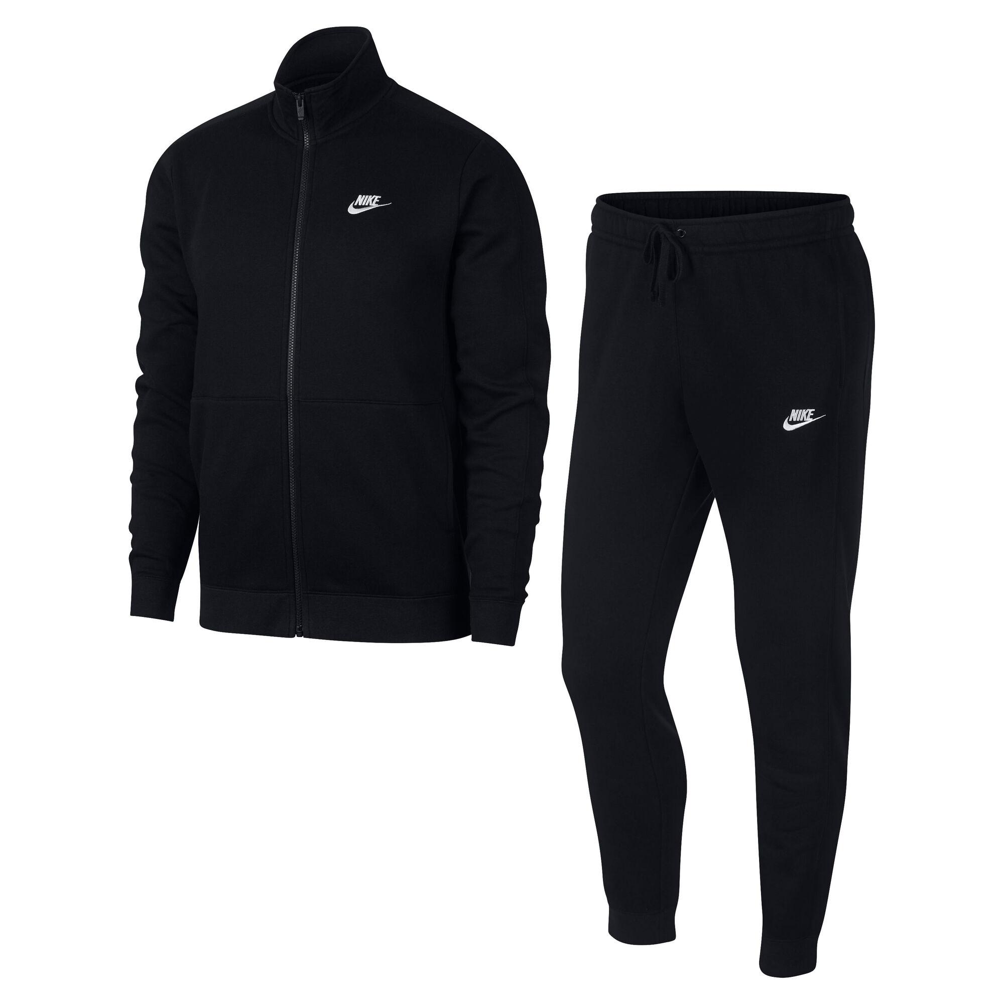 2646ebe307ed buy Nike Sportswear Fleece Tracksuit Men - Black