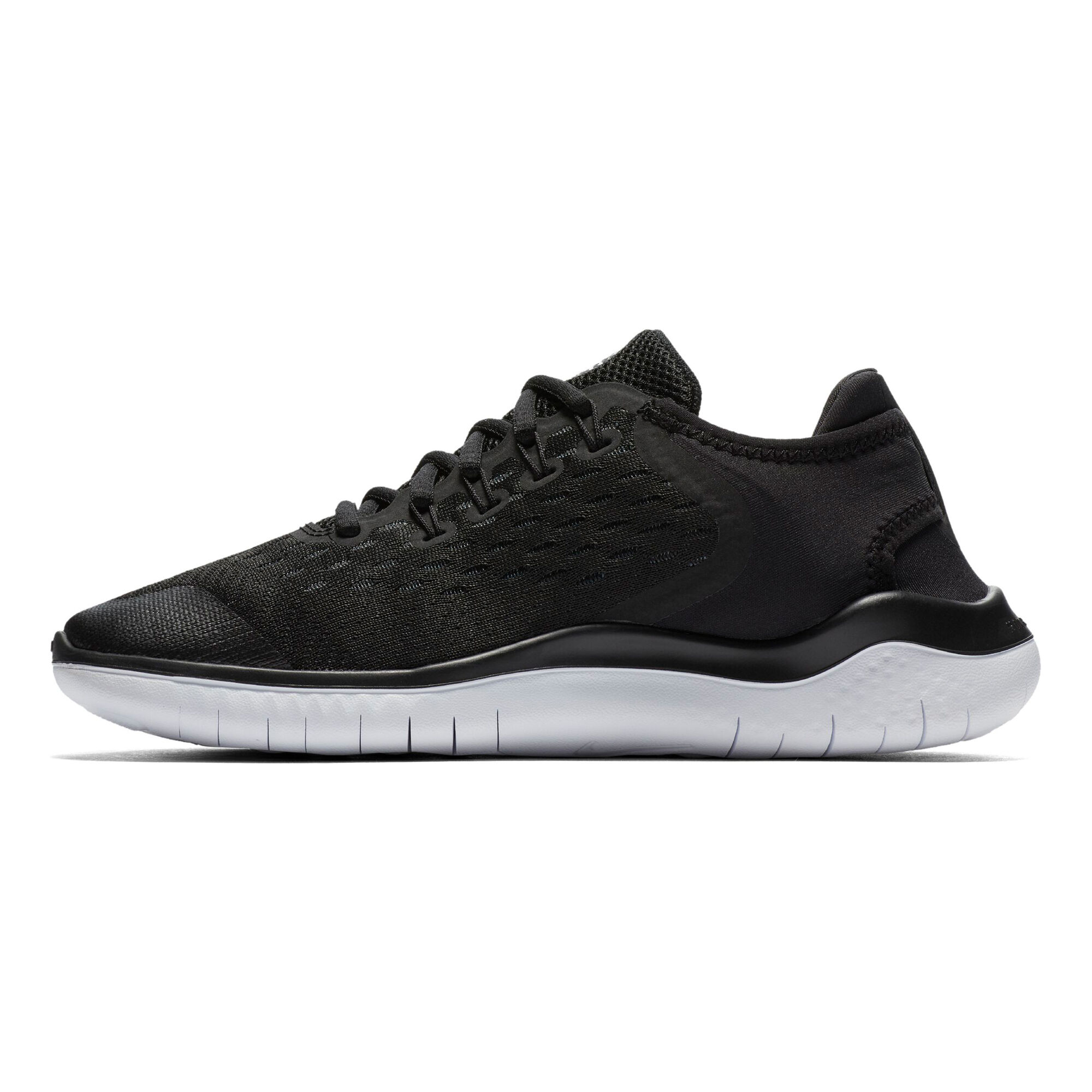 hot sale online 191e8 6675e buy Nike Free Run 2018 Natural Running Shoe Kids - Black ...