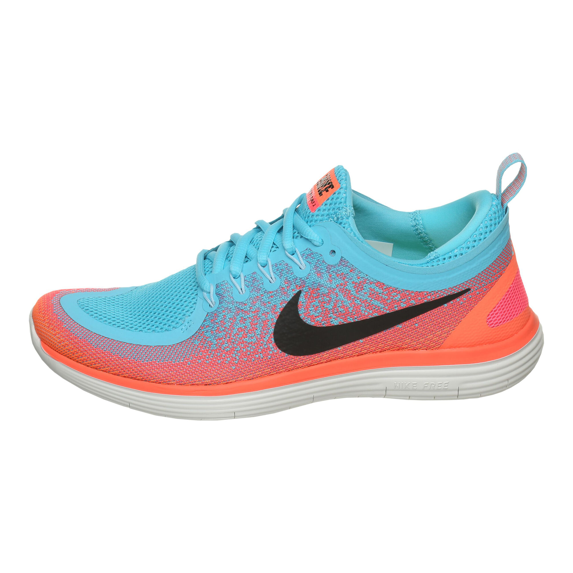 44a2056dc3b buy Nike Free RN Distance 2 Natural Running Shoe Women - Blue, Pink ...