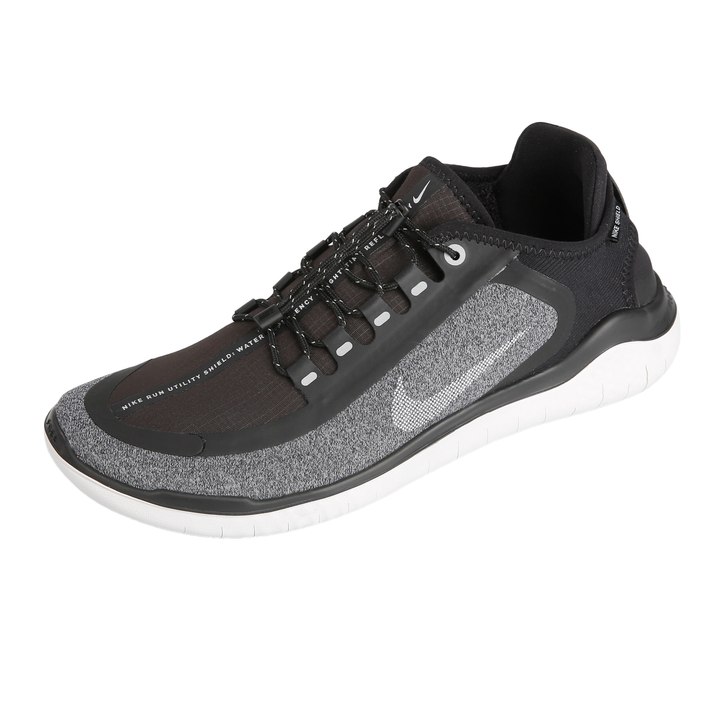 Nike Free Run+3 Shield Natural Running Shoe Men Grey