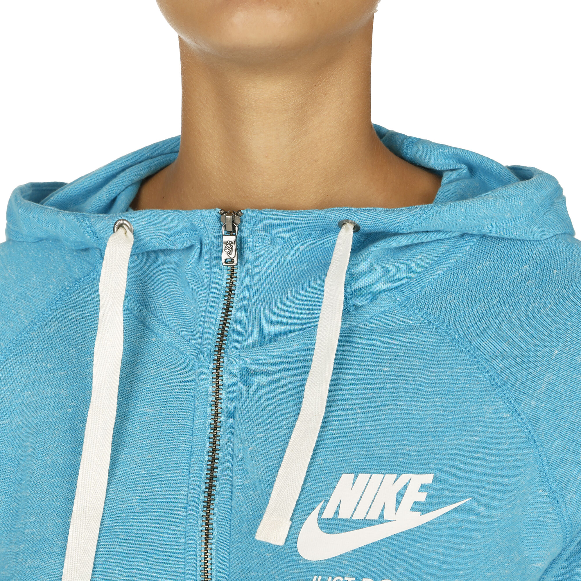 af2e24afb242 buy Nike Gym Vintage Full Zip Hoodie Women - Light Blue
