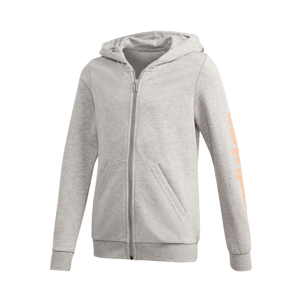 Essentials Linear Zip Hoodie Women