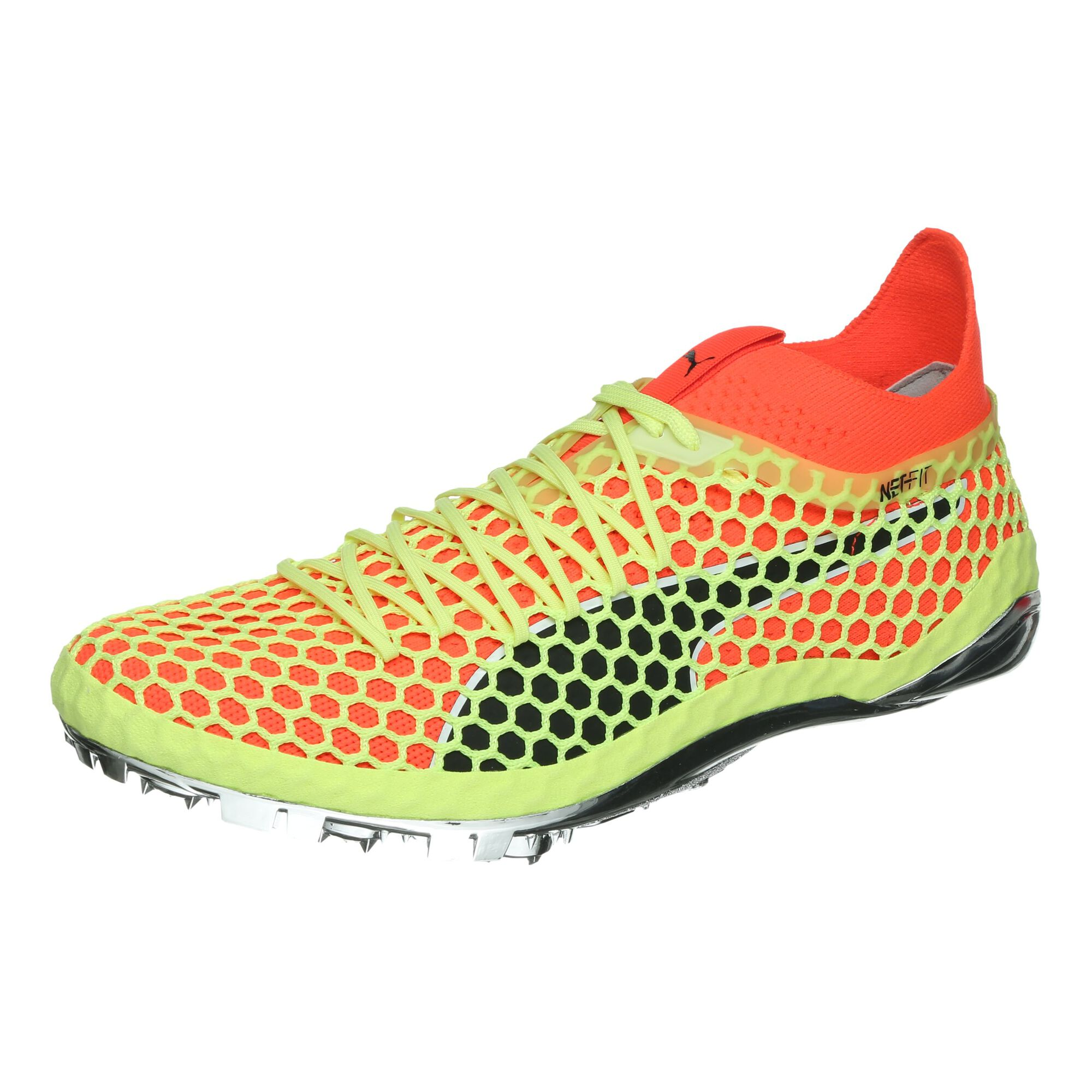 buy Puma EvoSPEED NETFIT Sprint Spike Shoes Men - Neon Yellow ... 4cc6d76e4