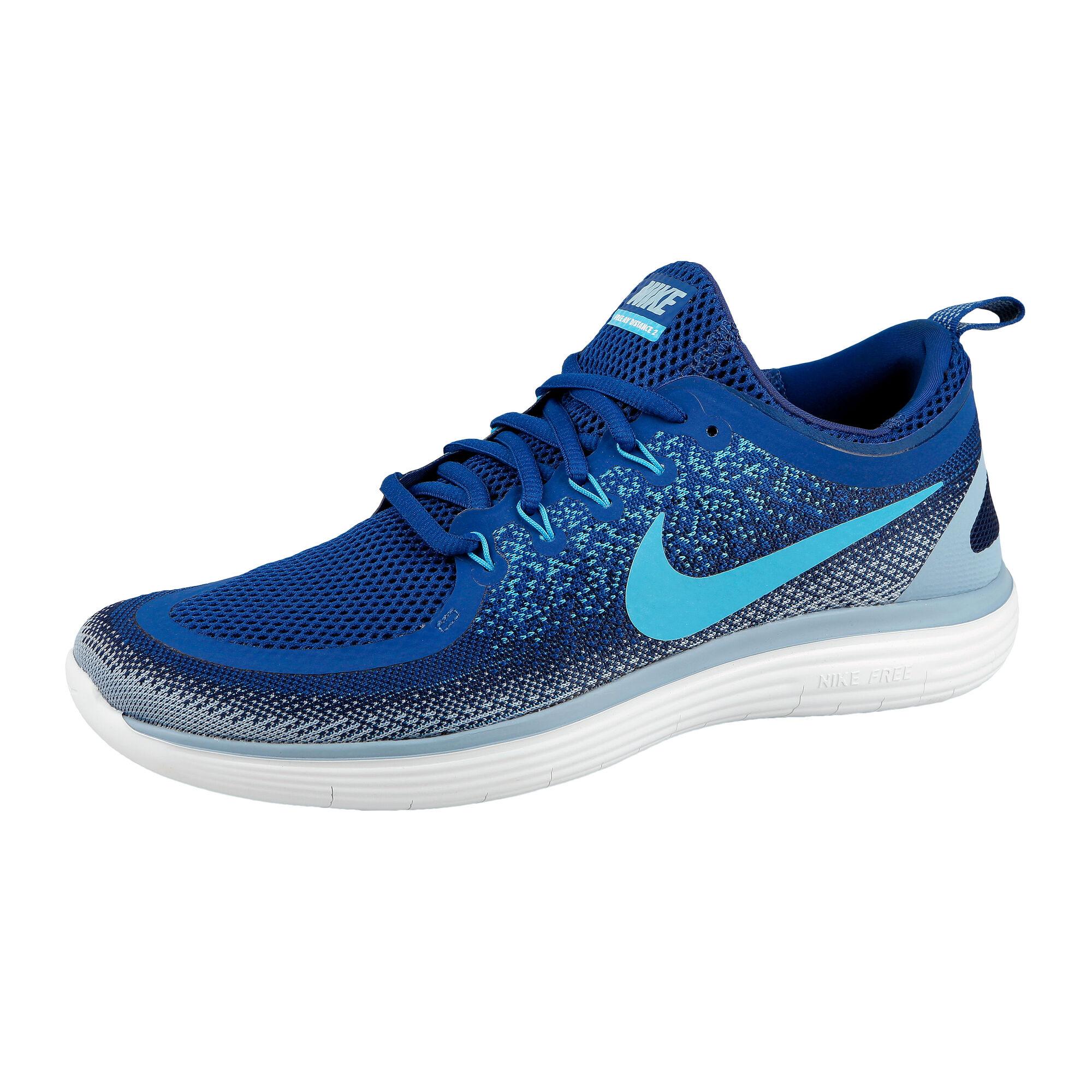 8f10efc2fa82d buy Nike Free Run Distance 2 Natural Running Shoe Men - Blue