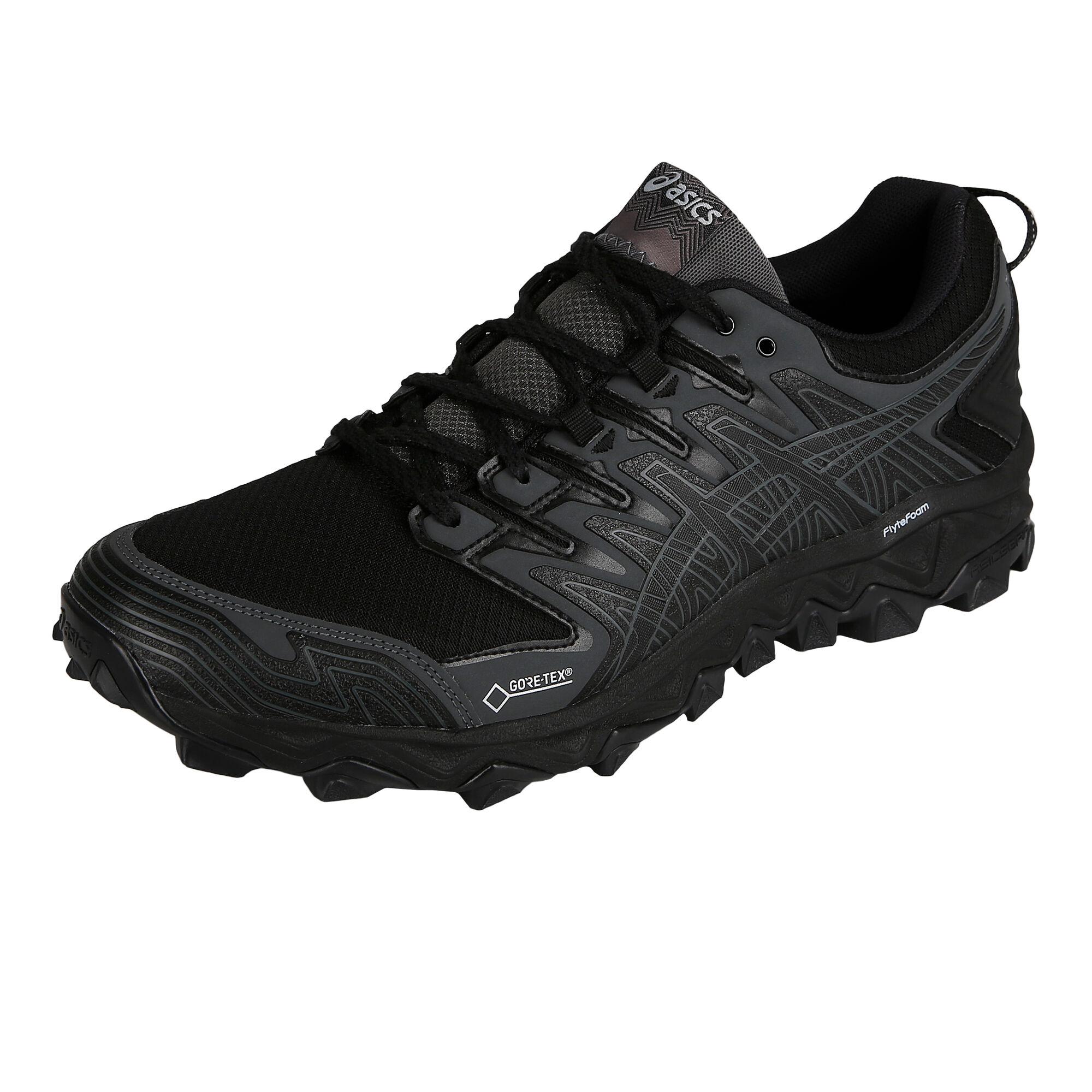 2803ddfd buy Asics Gel-Fuji Trabuco 7 G-TX Trail Running Shoe Men - Black ...