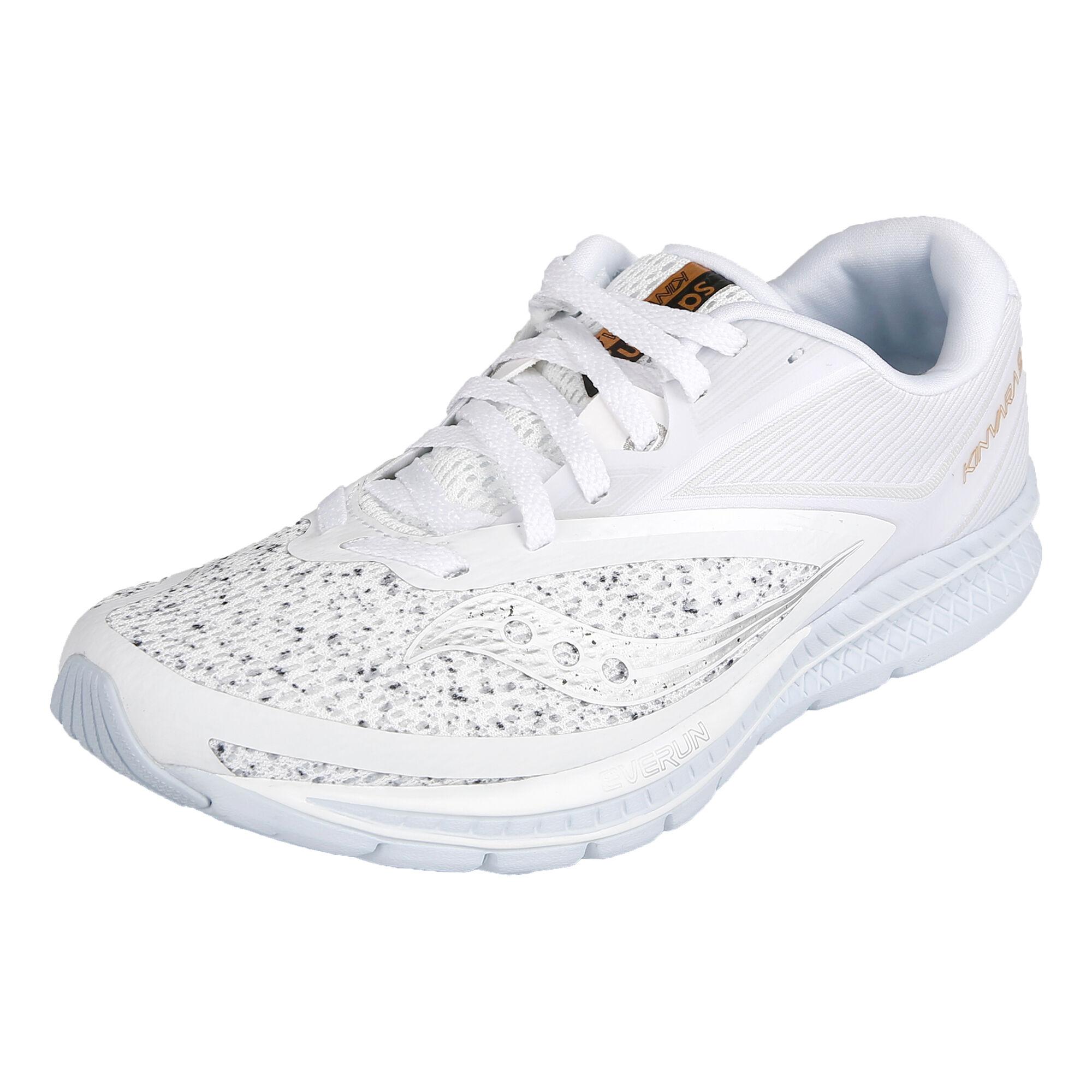 a7570fa6 buy Saucony Kinvara 9 Neutral Running Shoe Women - White, Silver ...