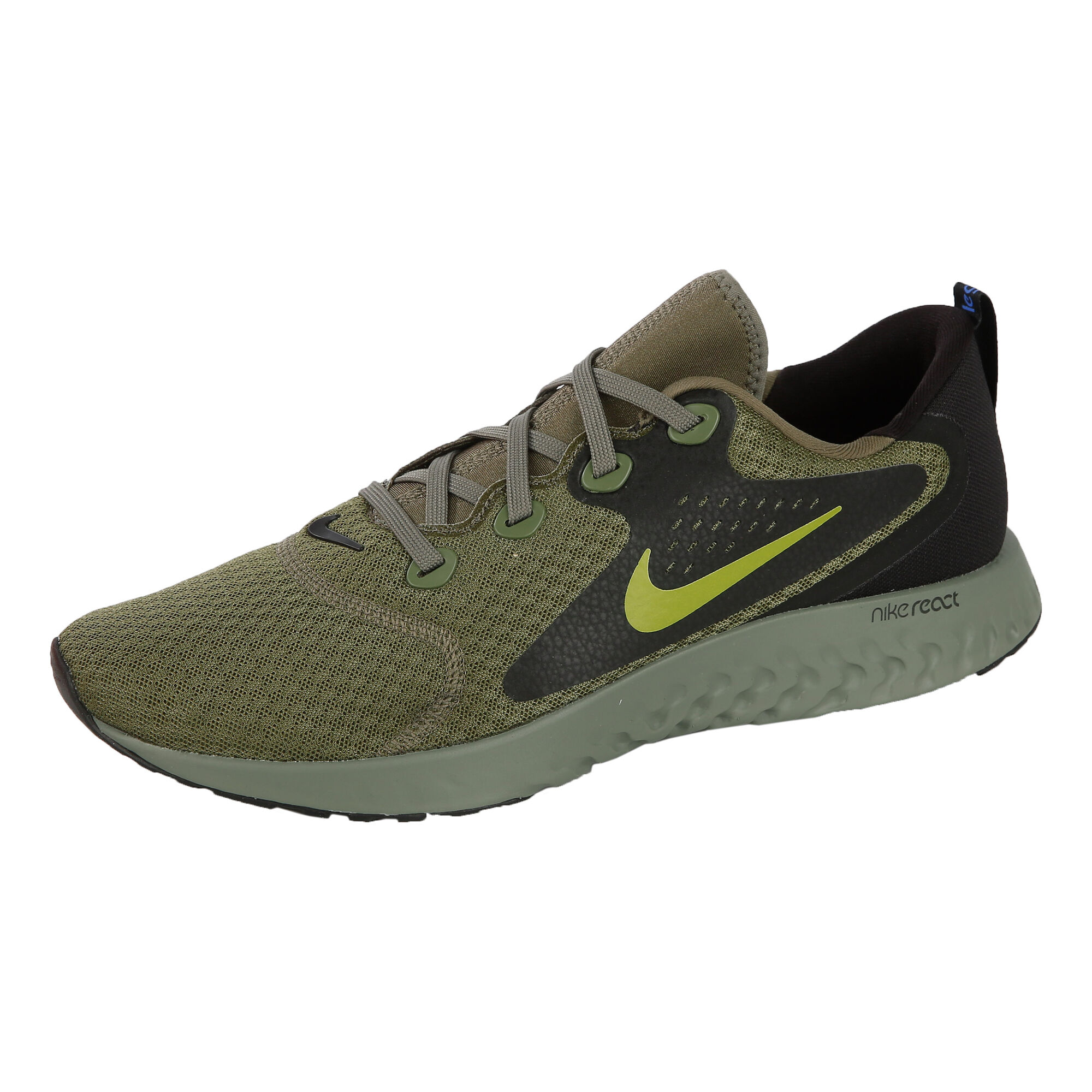 d0d691ff376fa buy Nike Rebel React Neutral Running Shoe Men - Olive