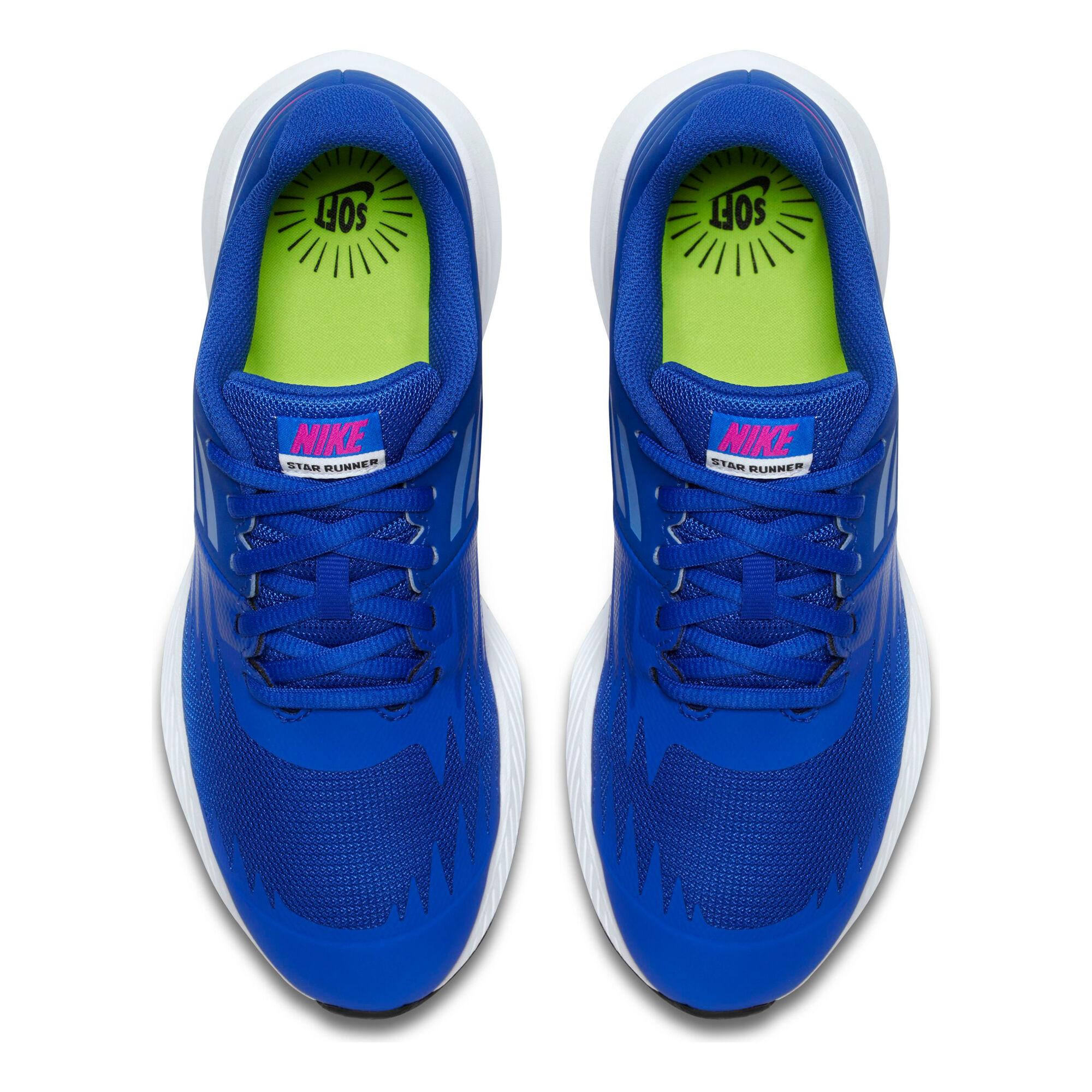 7e3c339b buy Nike Star Runner Neutral Running Shoe Kids - Blue, Pink online ...