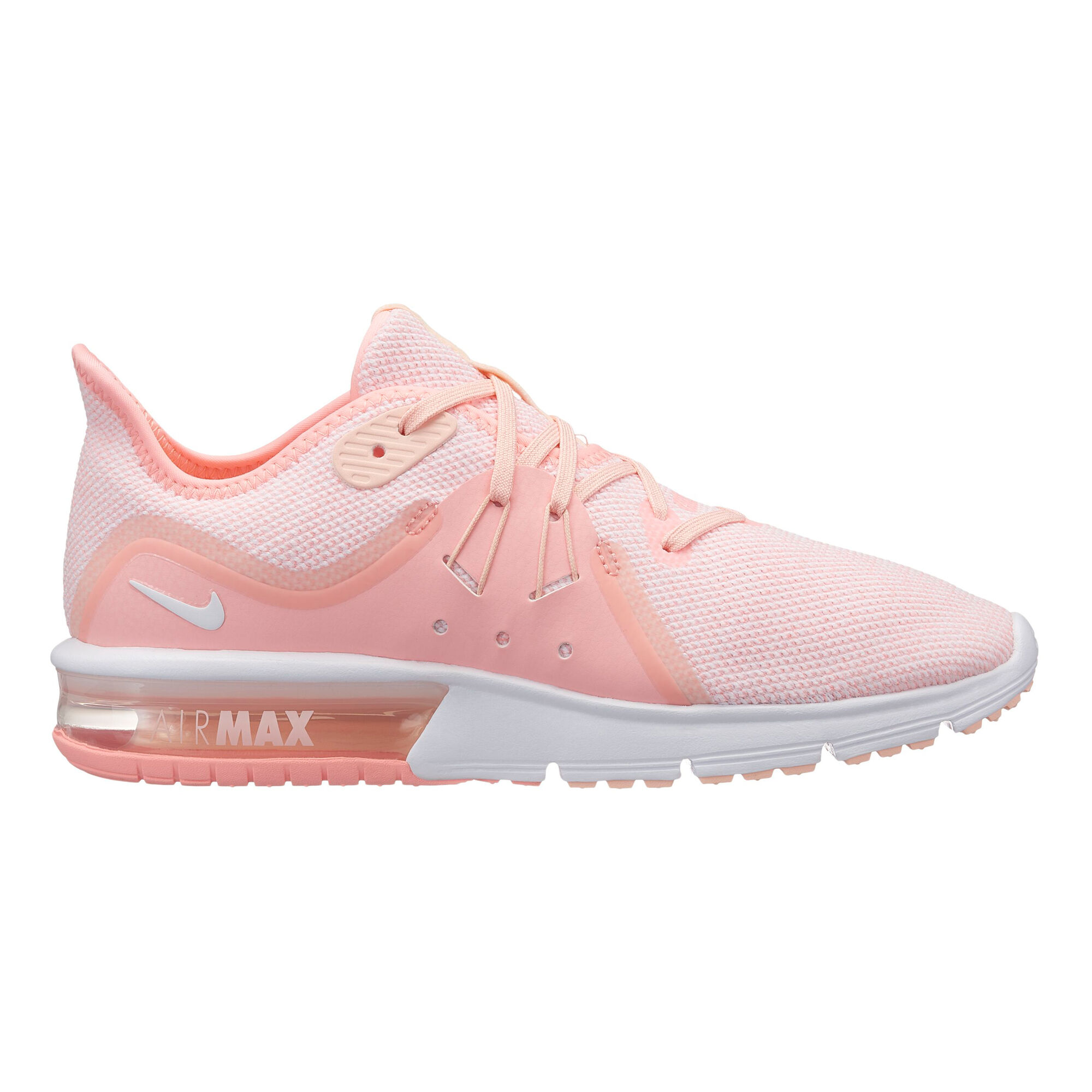 b0724b25972507 buy Nike Air Max Sequent 3 Neutral Running Shoe Women - Pink ...