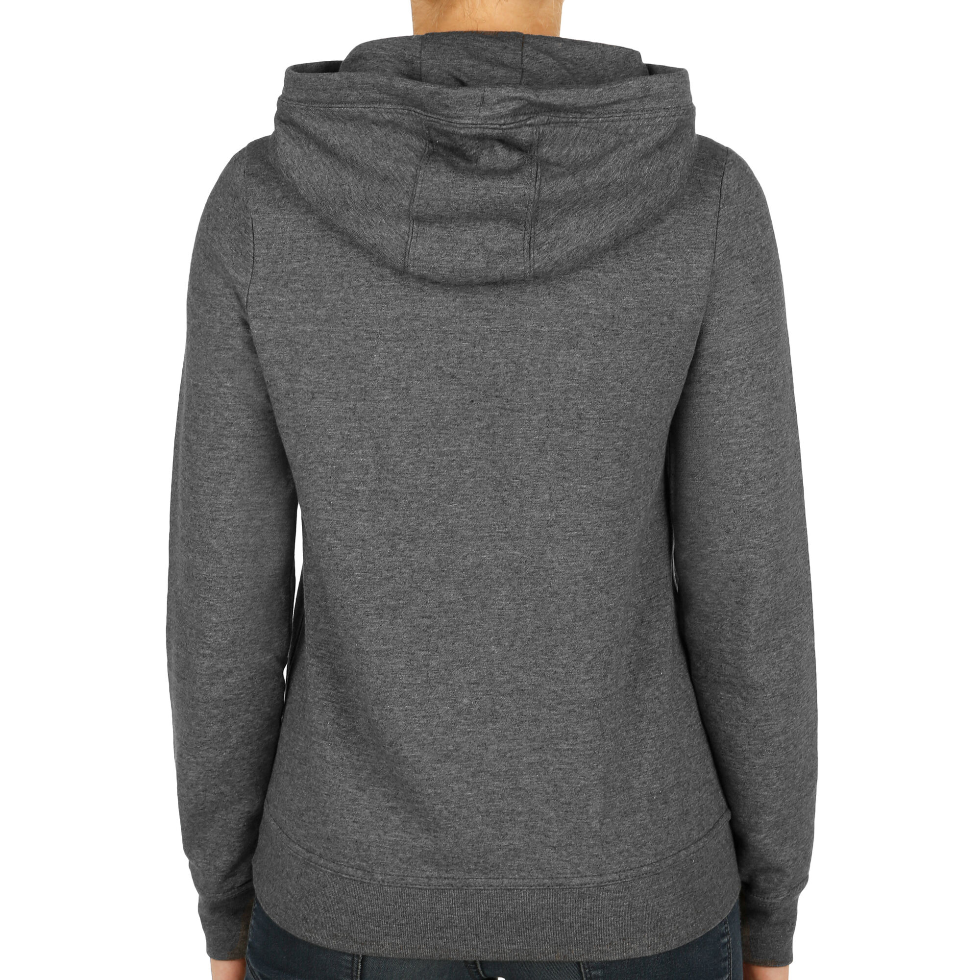 909b8221e9eb buy Nike Sportswear Funnel-Neck Hoody Women - Dark Grey