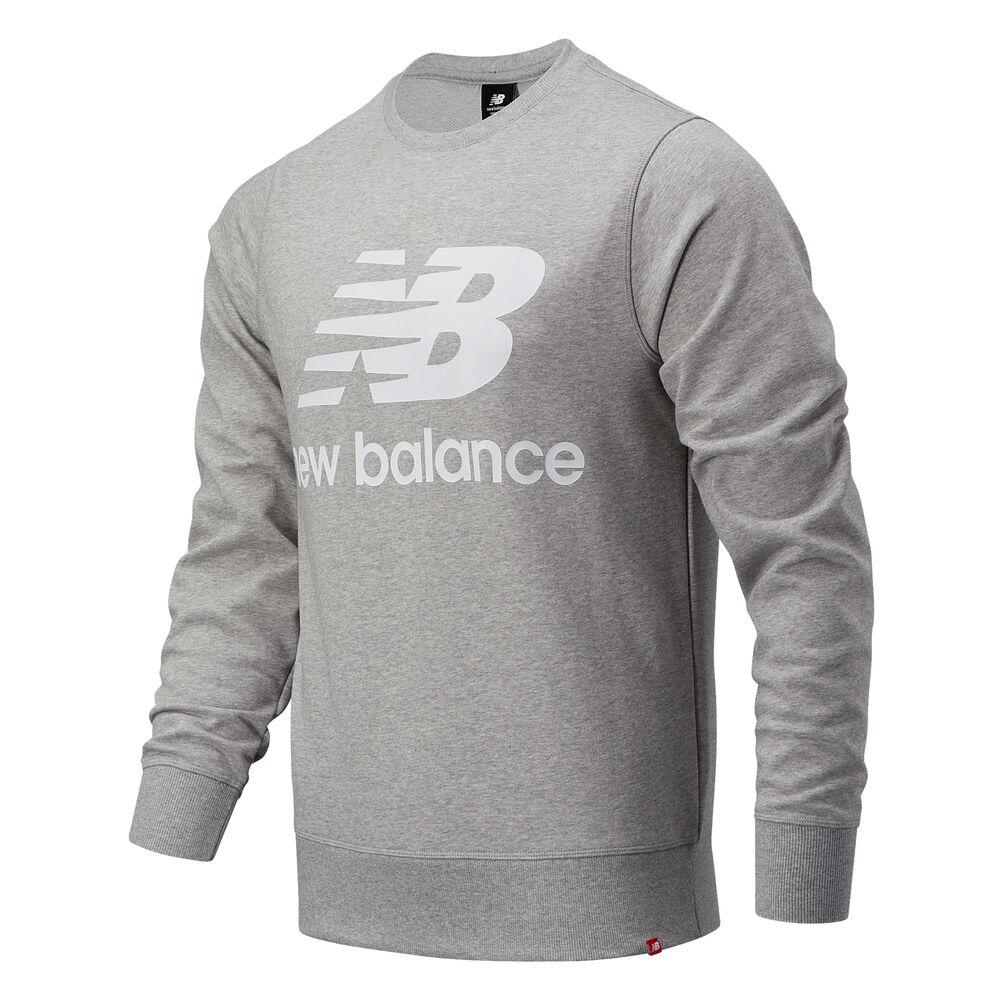 Essentials Stacked Logo Crew T-Shirt Men