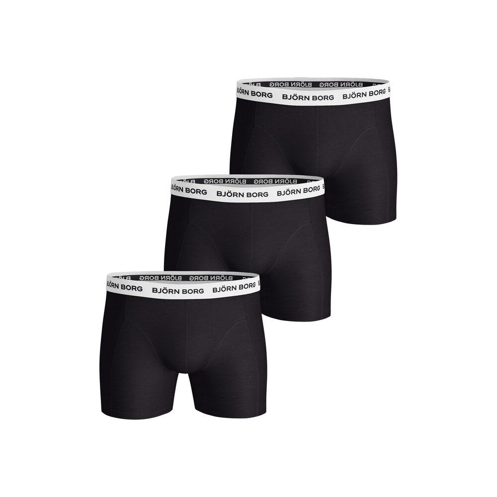 Noos Contrast Solids Boxer Shorts 3 Pack Men