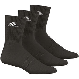 3 Stripes Performance Crew HC 3er Pack