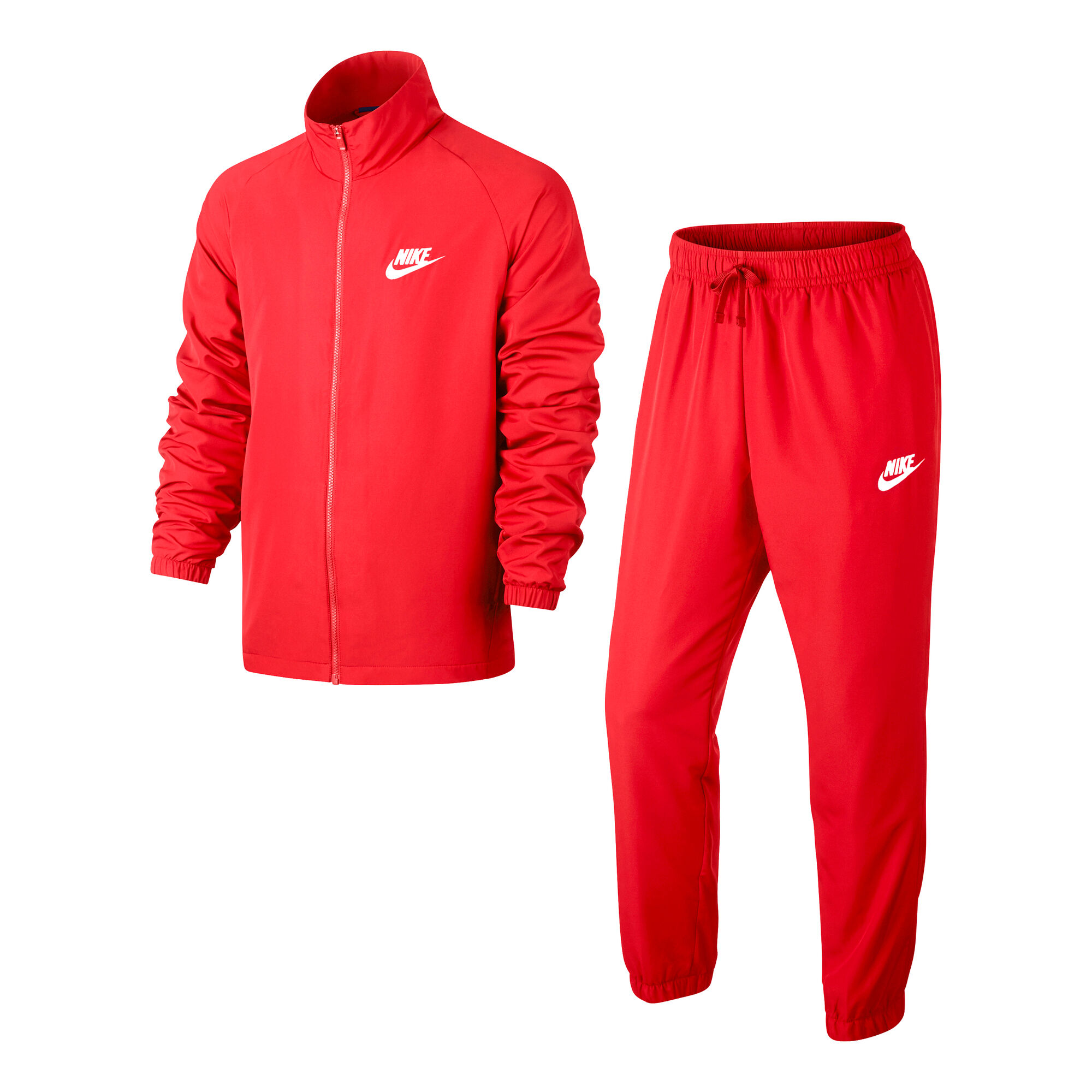 ae13bc3ee buy Nike Sportswear Woven Tracksuit Men - Red