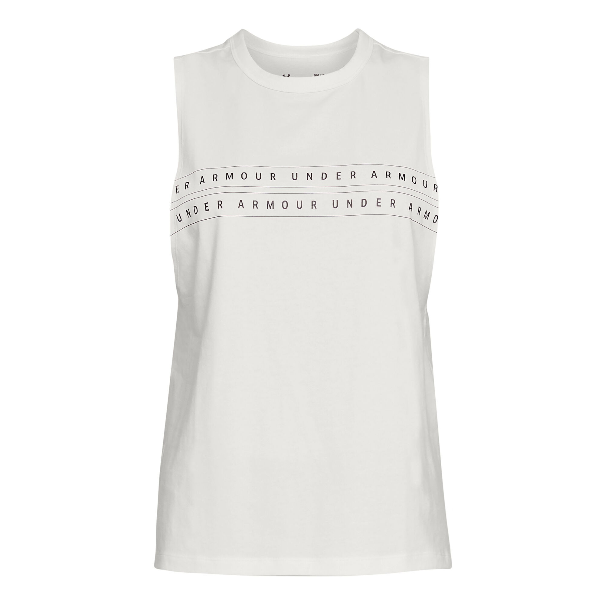 0d2c720a buy Under Armour Graphic WM Muscle Tank Top Women - White, Grey ...