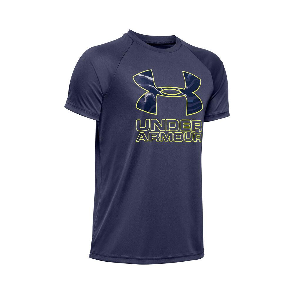 Tech Hybrid Print Fill Logo T-Shirt Men