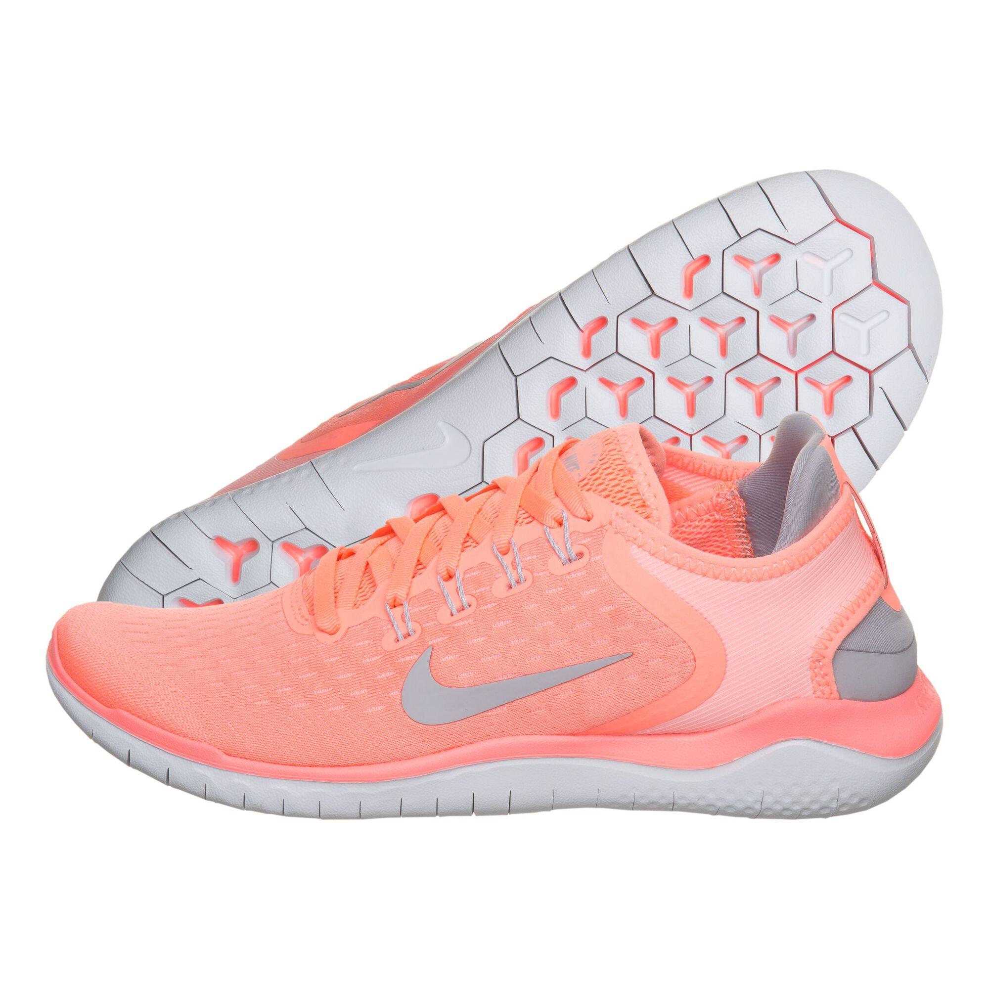 435183ea306b buy Nike Free Run 2018 Natural Running Shoe Women - Coral