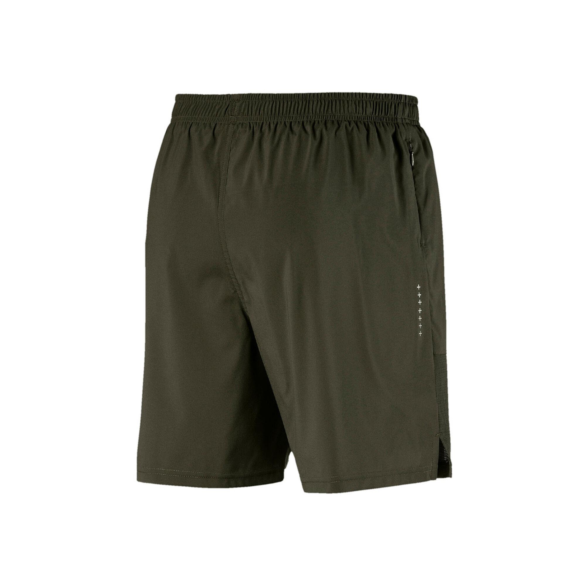 9075892a9898 buy Puma Run 7in Shorts Men - Khaki