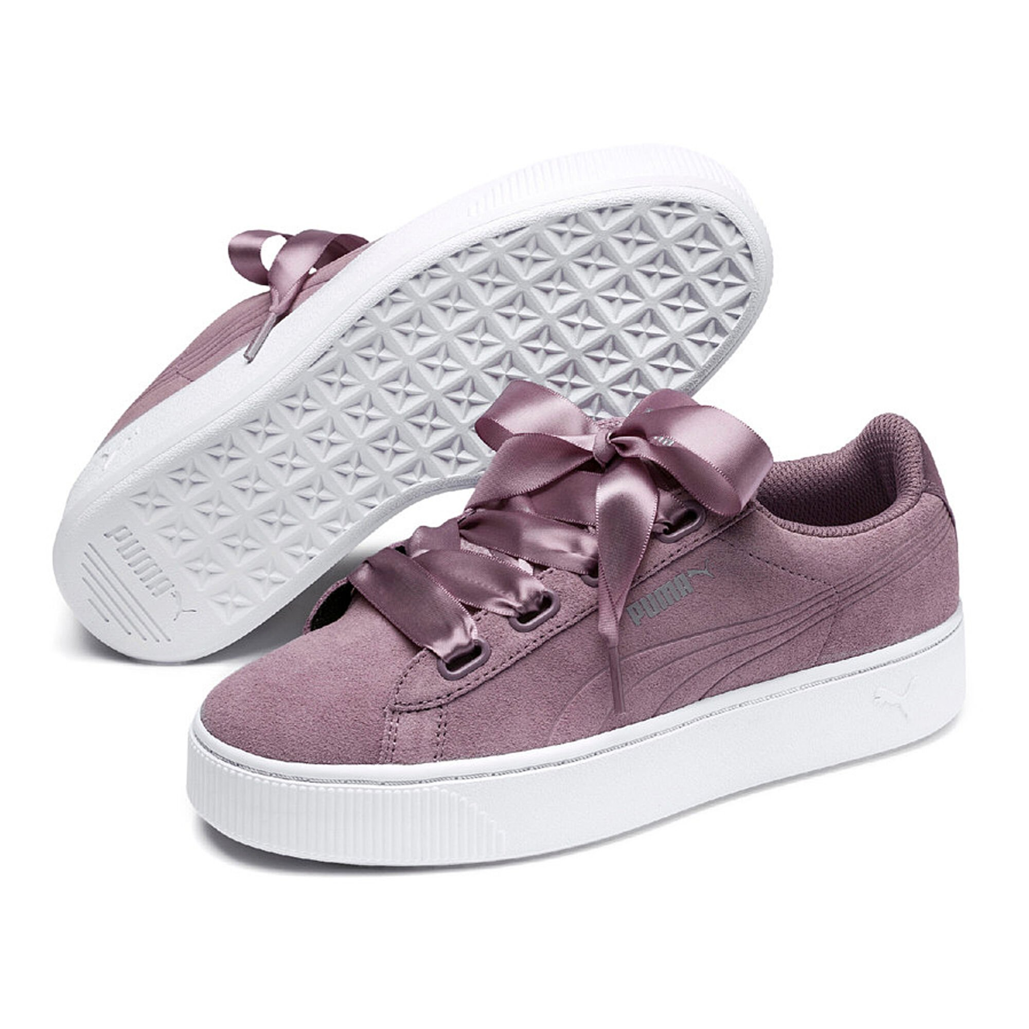 d017a4f80144 buy Puma Vikky Stacked Ribbon Sneakers Women - Violet