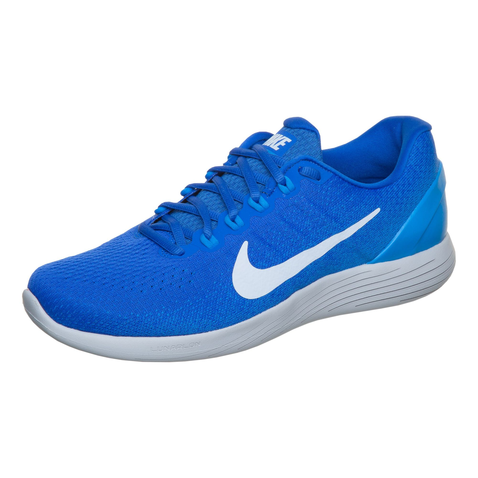 3791fe806911b buy Nike LunarGlide 9 Stability Running Shoe Men - Blue