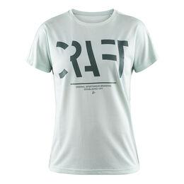 Eaze Shortsleeve Logo Mesh Tee Women