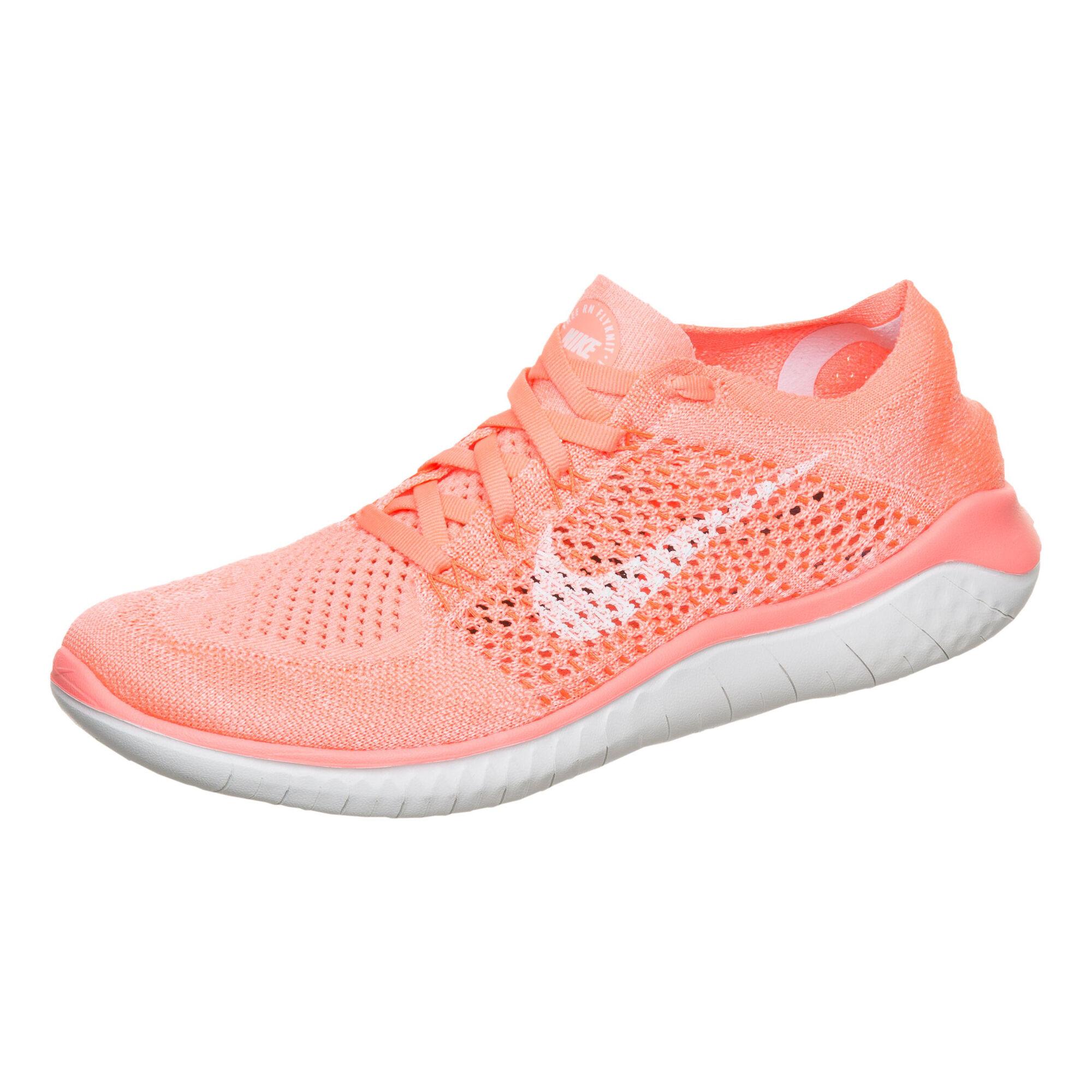 1a5a9963e484 buy Nike Free Run Flyknit 2018 Natural Running Shoe Women - Orange ...
