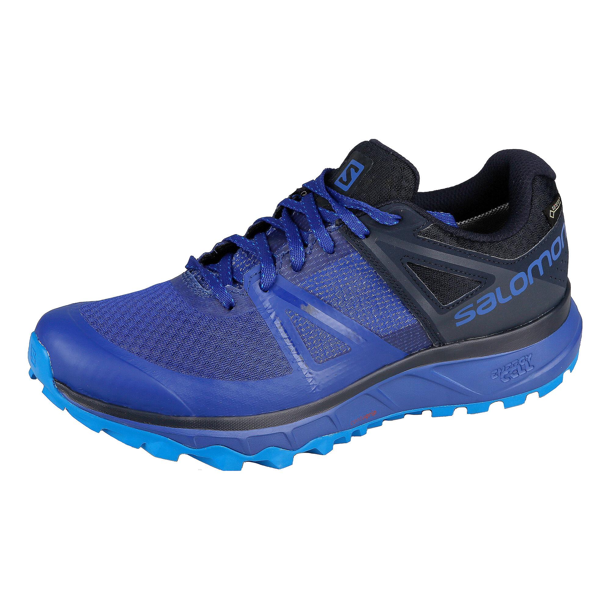 a31fdfb8389 buy Salomon Trailster GTX Trail Running Shoe Men - Dark Blue