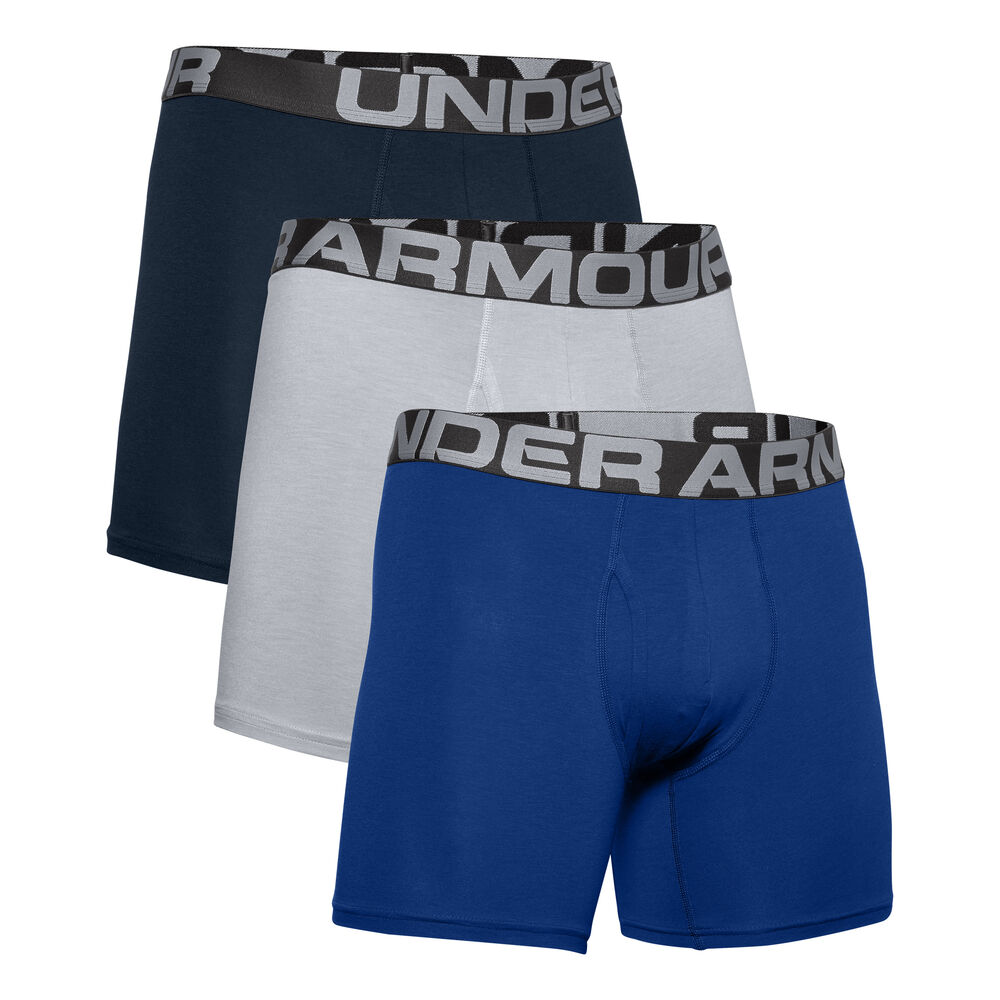 Charged Cotton 3in Boxer Shorts 3 Pack Men