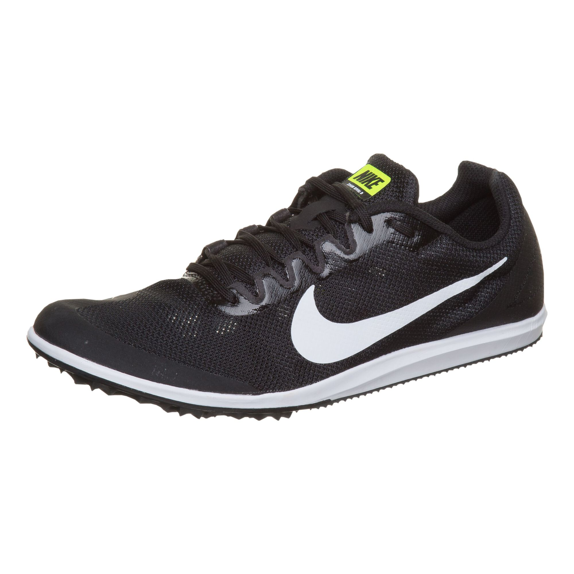 size 40 4b1ec 00352 buy Nike Zoom Rival D 10 Spike Shoes - Black, White online   Jogging ...