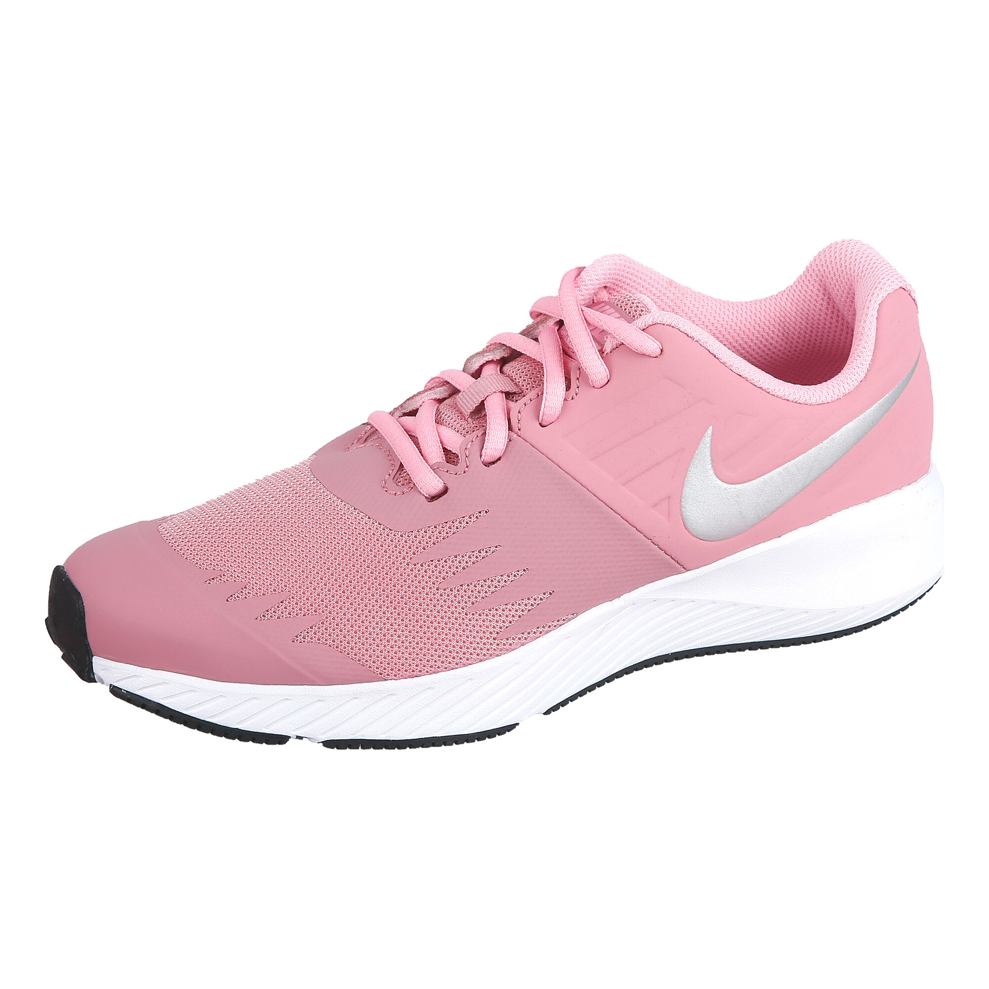 new product 0ad24 d4a1a buy Nike Star Runner (GS) Neutral Running Shoe Kids - Pink, Silver ...