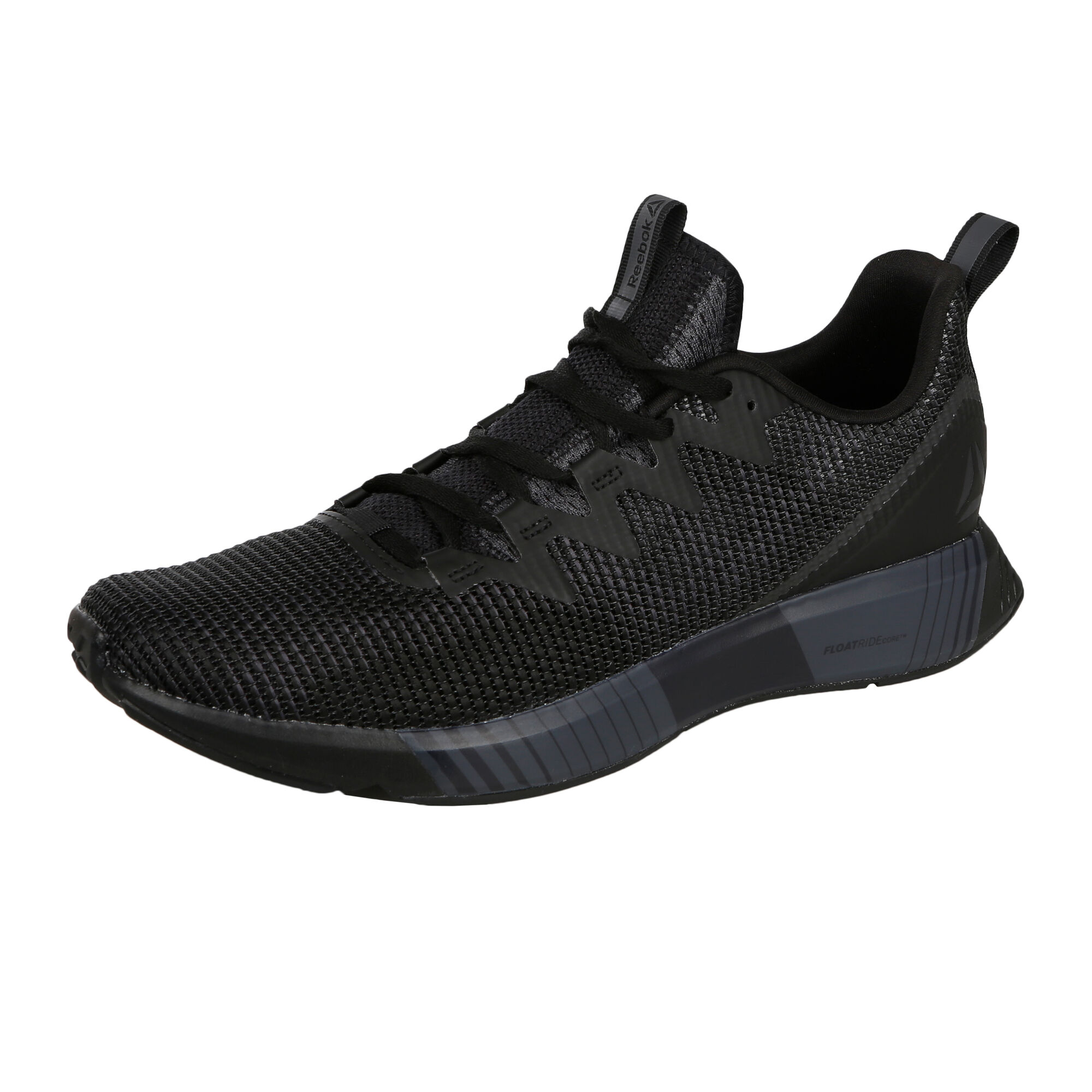 best service 983ba c7d49 Reebok Fusion Flexweave Neutral Running Shoe Men - Black, Dark Grey