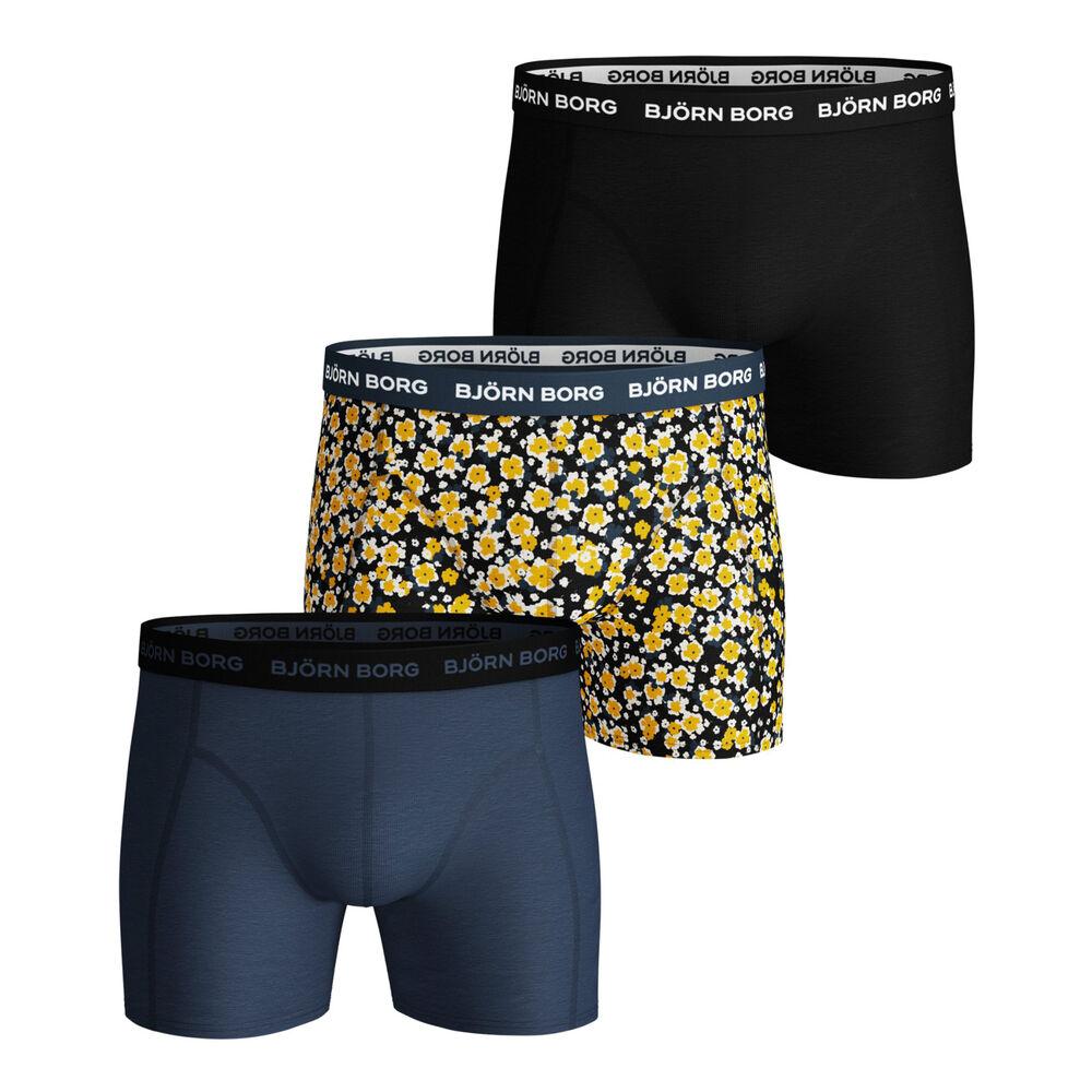 Ditsy Flower Sammy Boxer Shorts 3 Pack Men