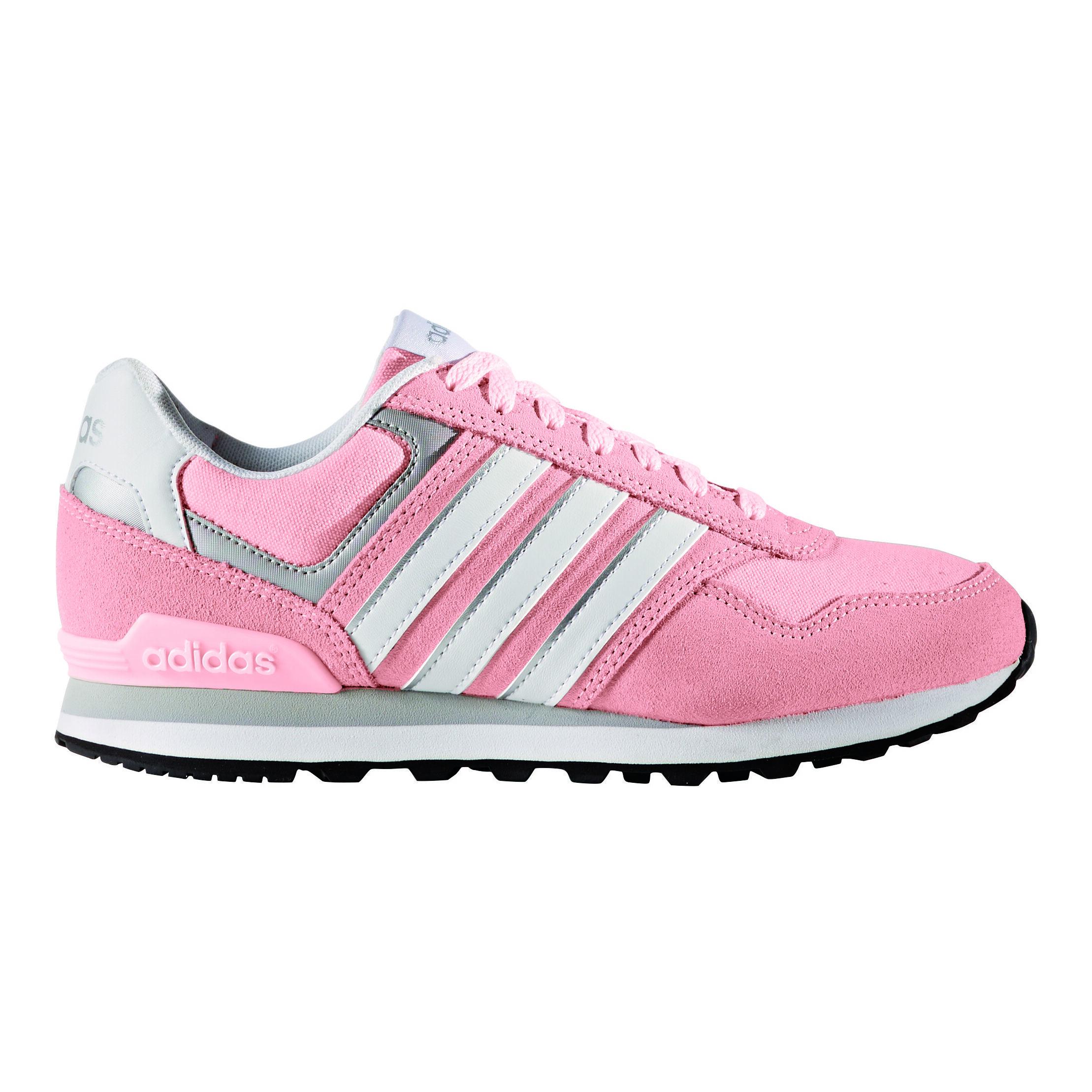 buy adidas NEO 10K Sneakers Women Pink, White online