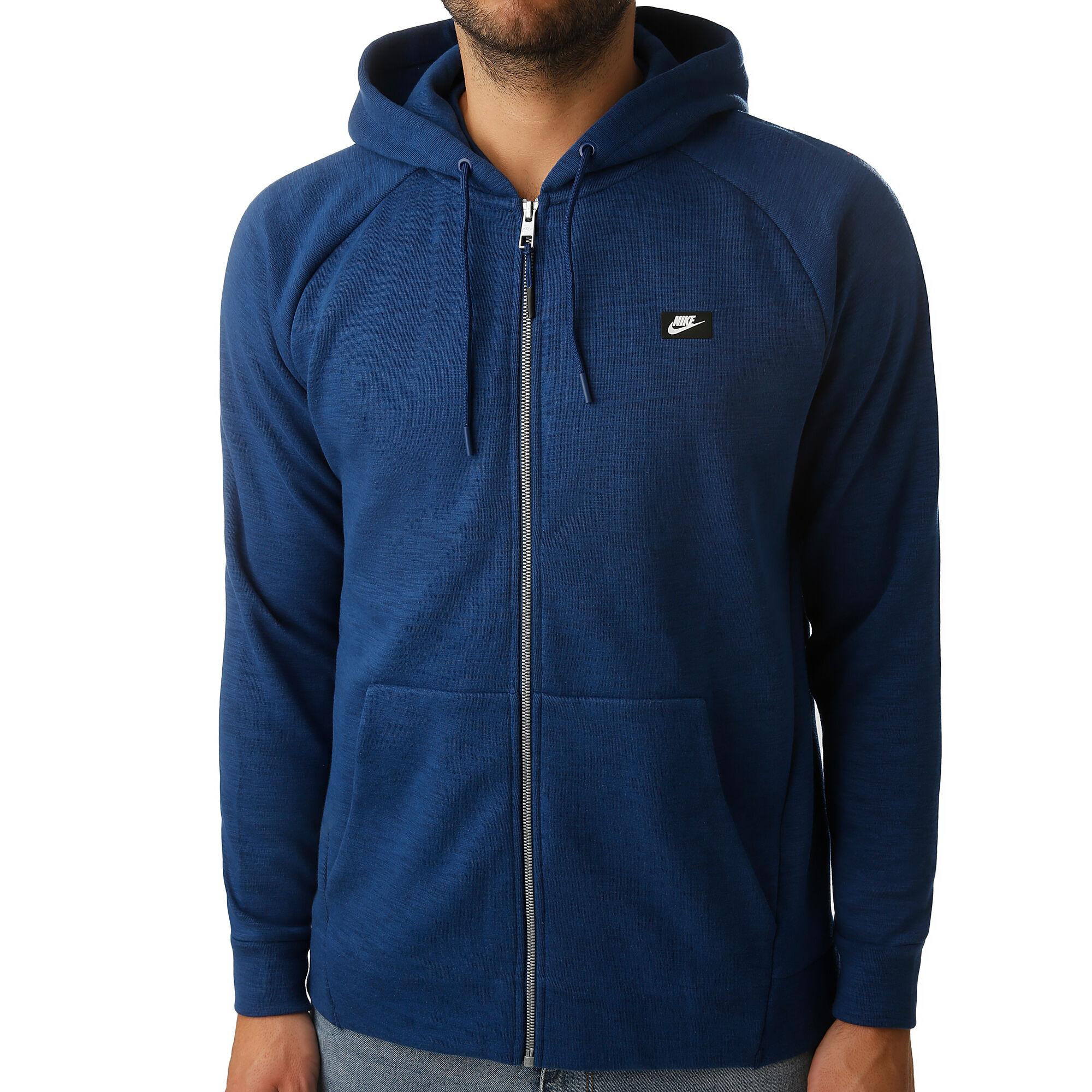 Presentar Inconveniencia Relativamente  buy Nike Sportswear Optic Zip Hoodie Men - Dark Blue, Blue online |  Jogging-Point