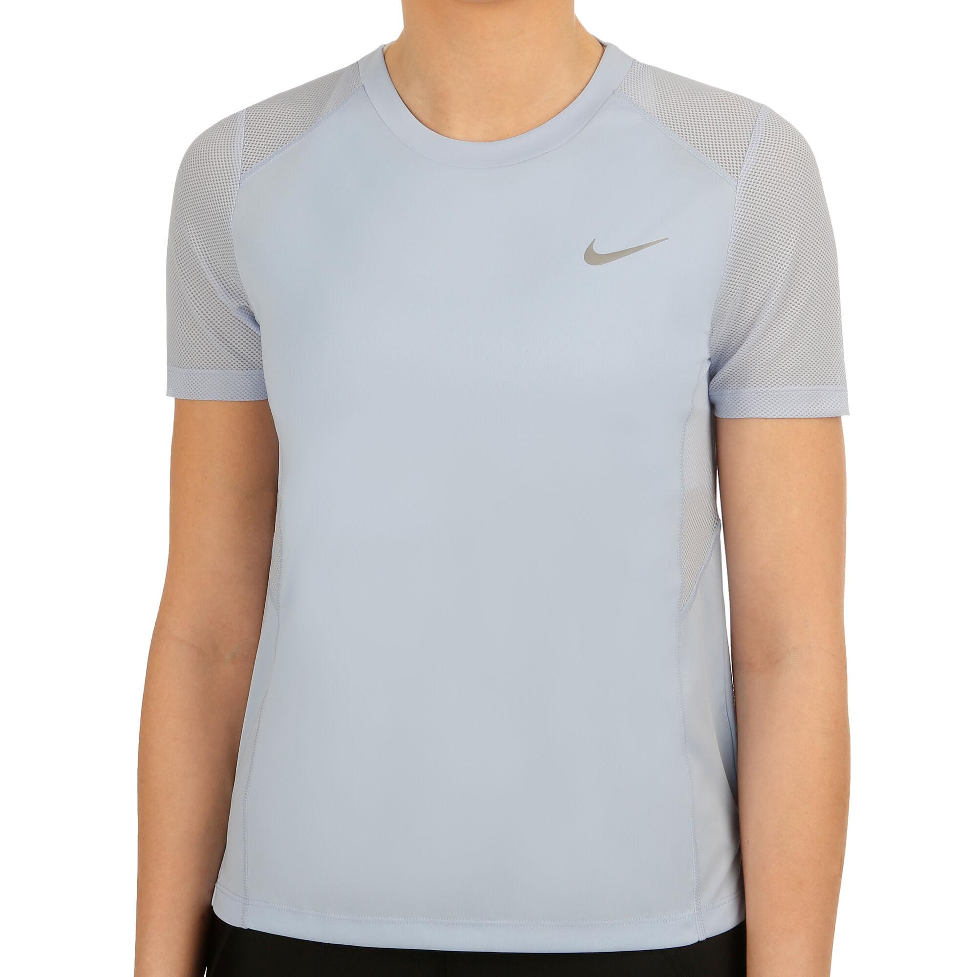 size 40 0a748 b3a0a buy Nike Miler T-Shirt Women - Light Blue, Silver online   Jogging-Point
