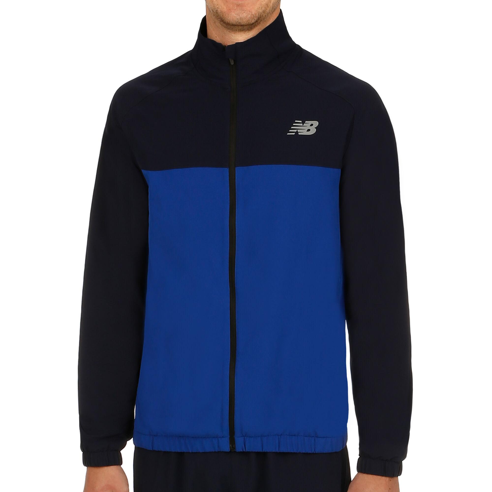 8c8dbc392 buy New Balance Tenacity Woven Running Jacket Men - Dark Blue, Blue ...