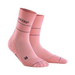 Reflective Mid-Cut Socks Women