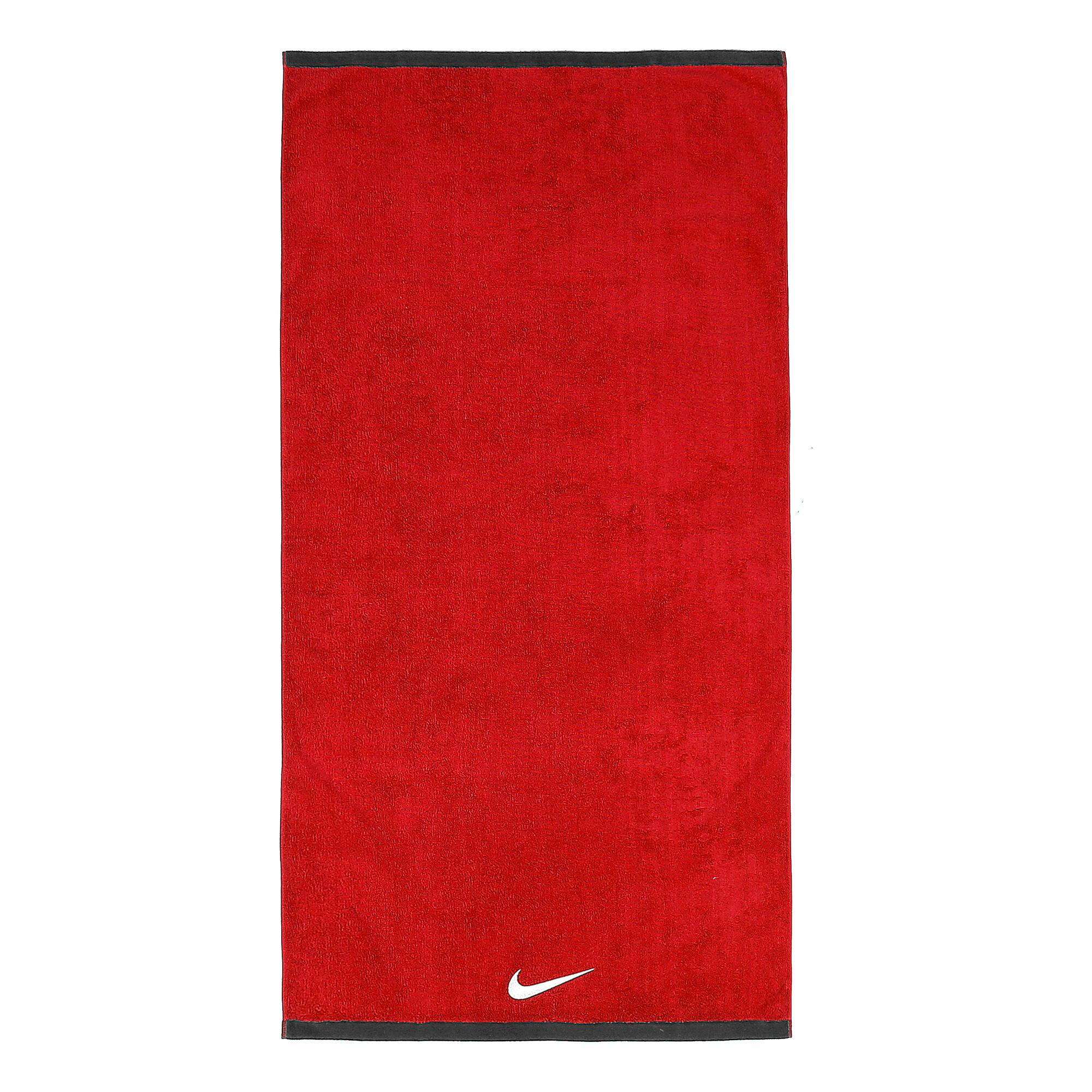 f1567cfb buy Nike Fundamental Towel 60x120cm - Red, Black online   Jogging-Point