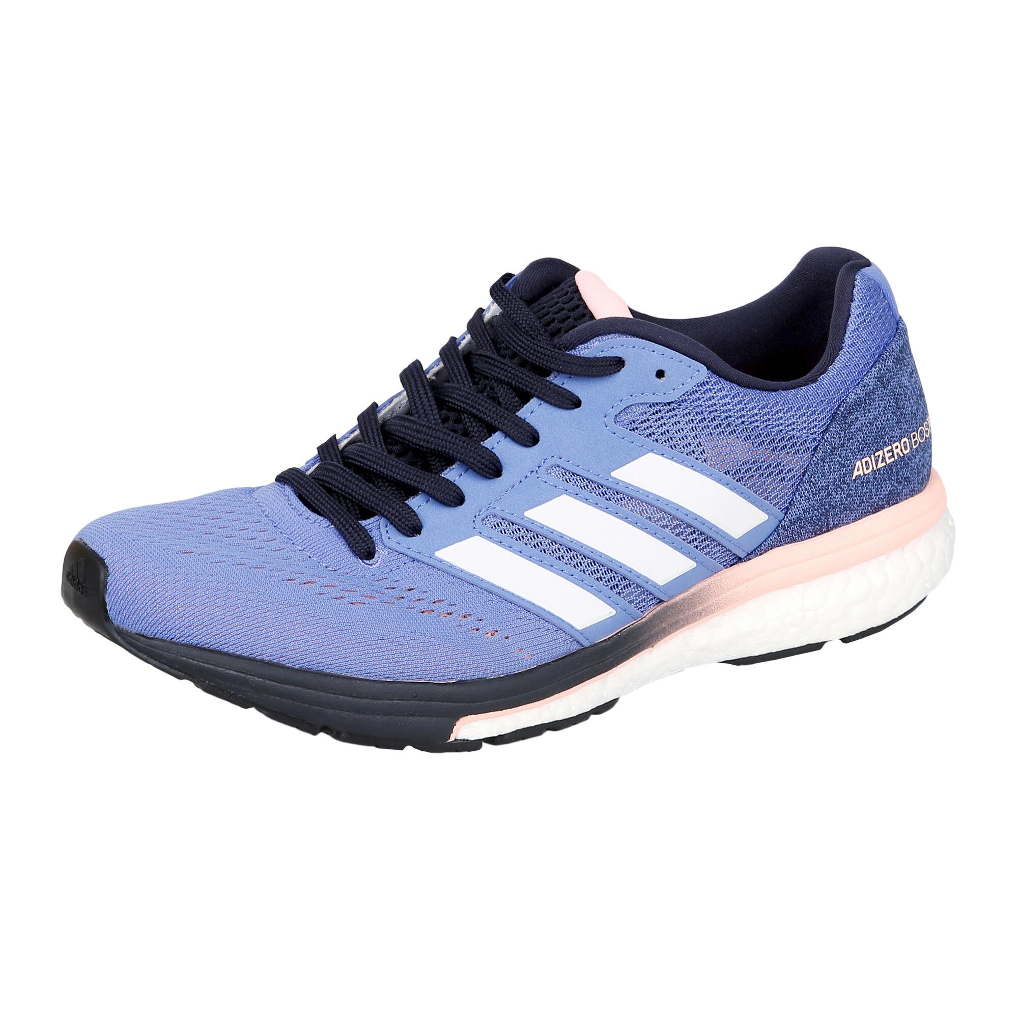328c58beb09 adidas Adizero Boston 7 Competition Running Shoe Women - Blue, Apricot