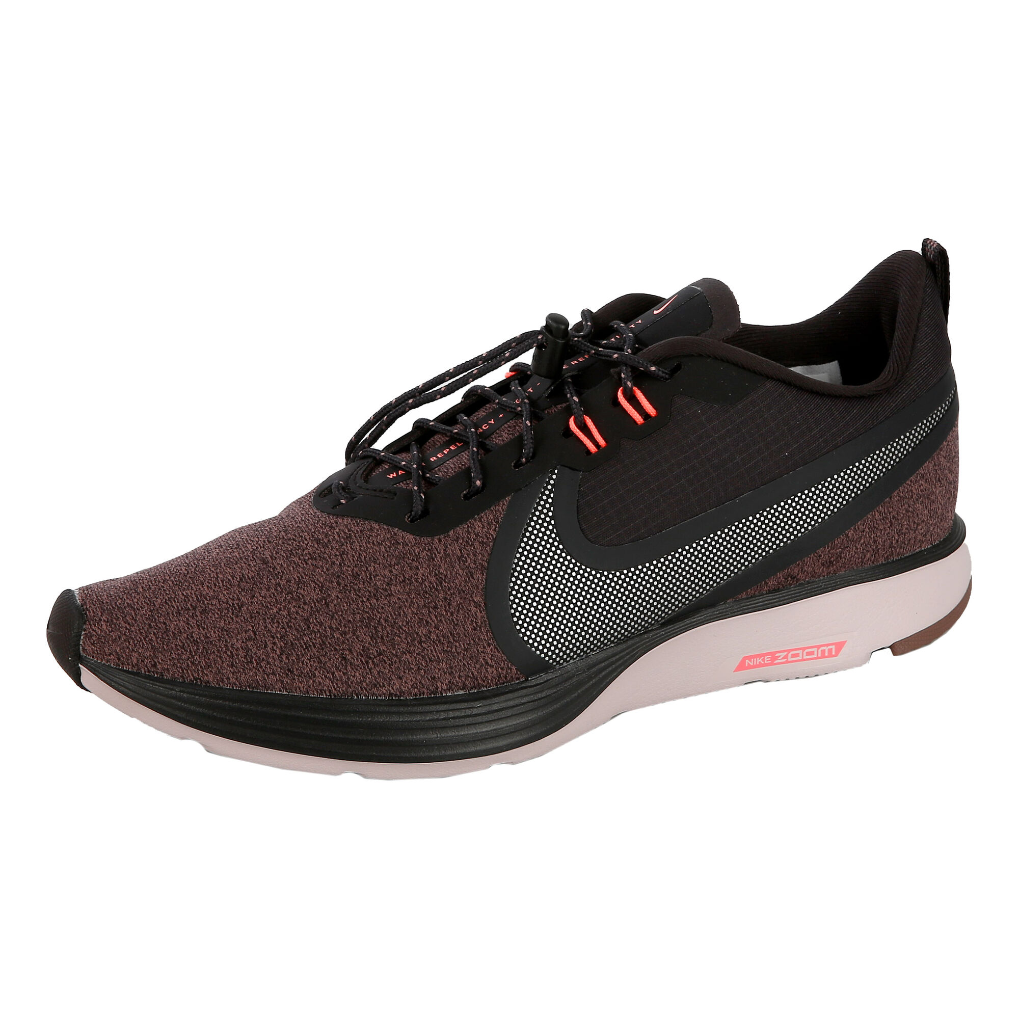 dfe9f48b008c buy Nike Zoom Strike 2 Shield Neutral Running Shoe Women - Dark Grey ...