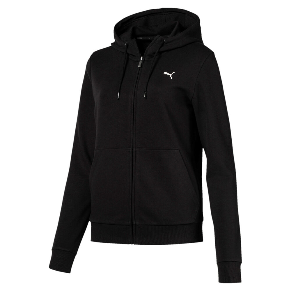 Essential Hooded Zip Hoodie Women