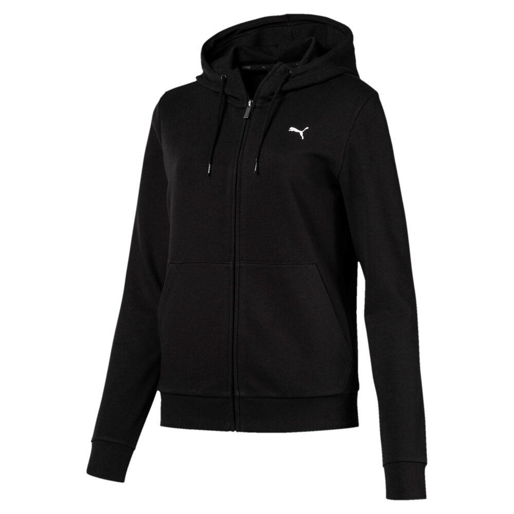 Essential Hooded Zip Hoodie Women