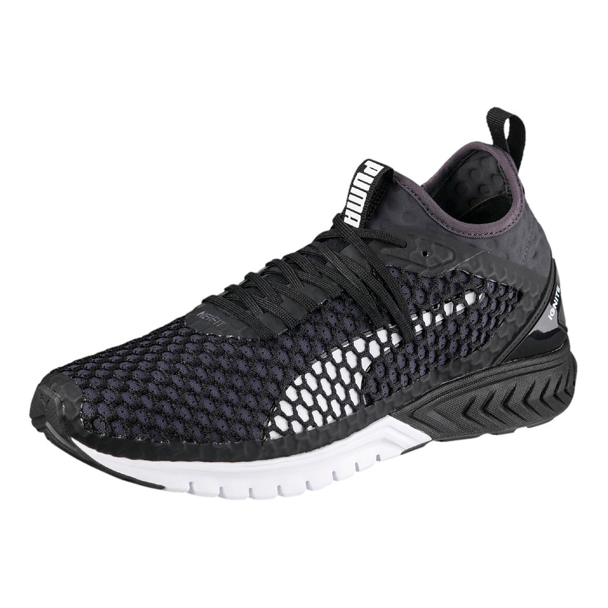 4d38e2378a5 buy Puma Ignite Dual Netfit Neutral Running Shoe Men - Black