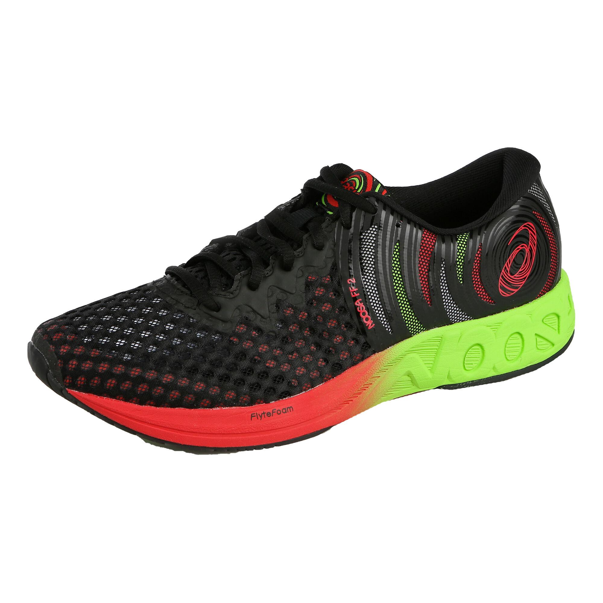 5e7cdf5b956 buy Asics Noosa FF 2 Competition Running Shoe Men - Black, Red ...